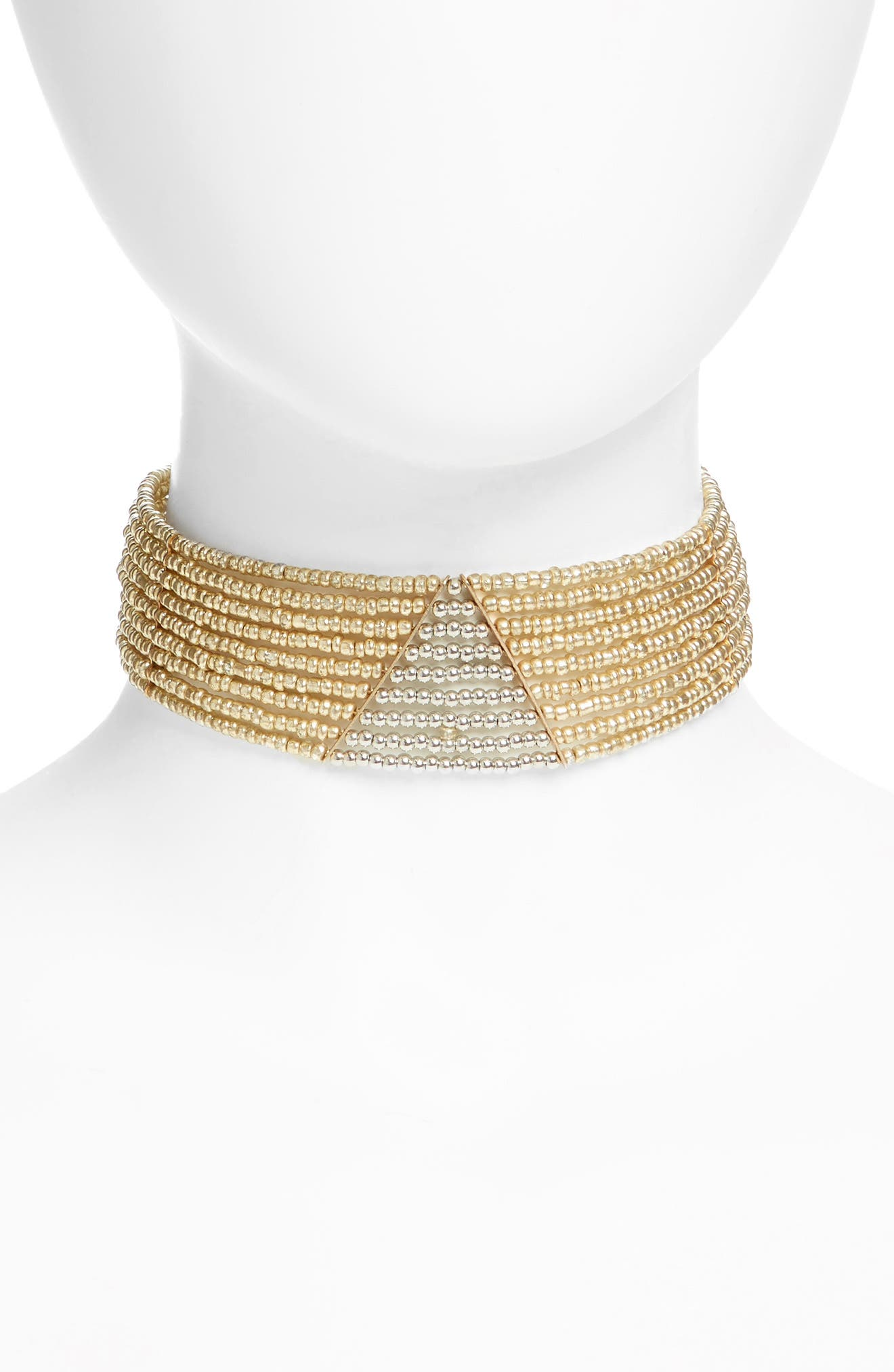 NATASHA COUTURE Tasha Beaded Choker