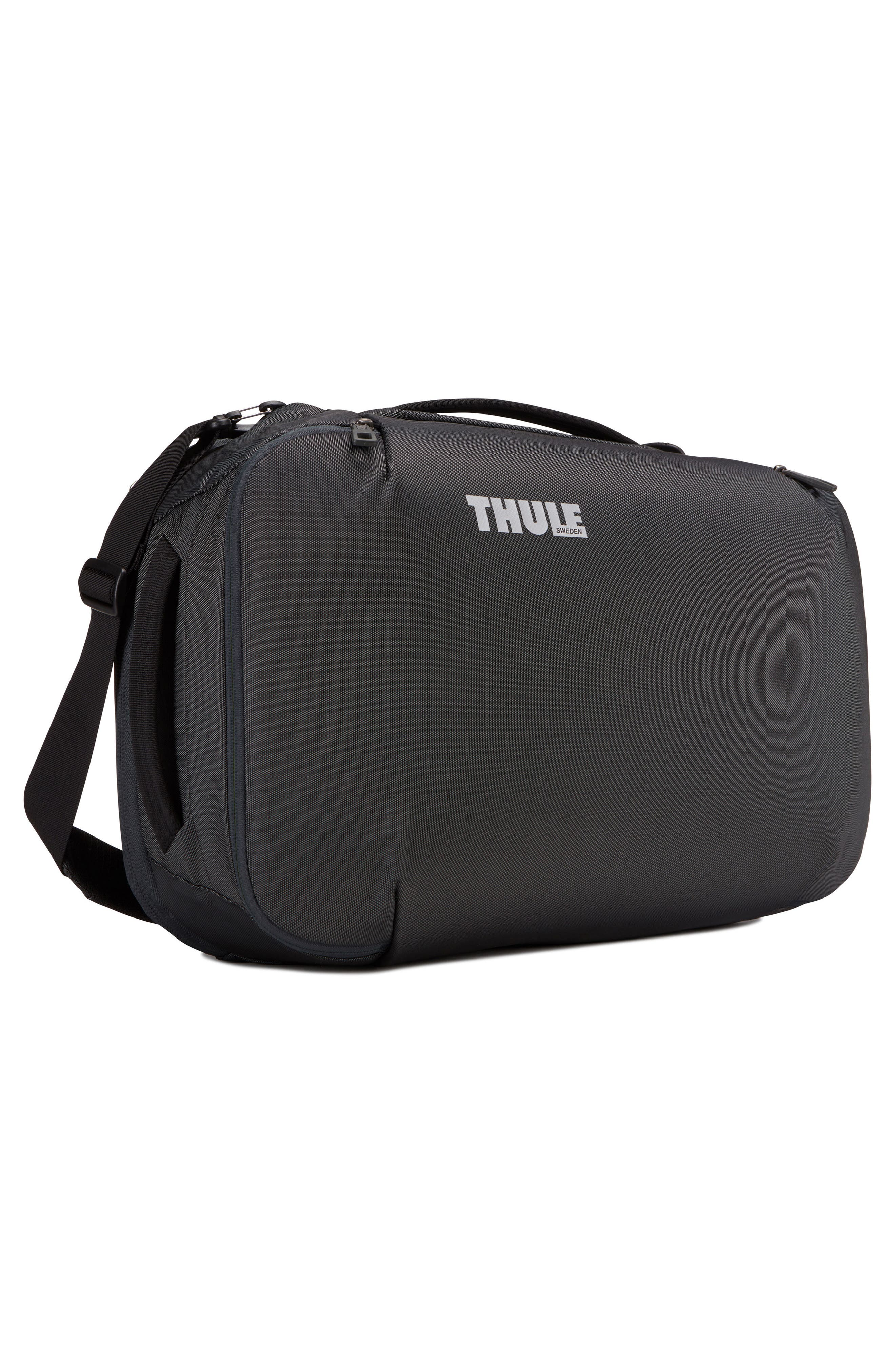 Subterra 40-Liter Convertible Duffel Bag,                             Alternate thumbnail 9, color,                             Dark Shadow