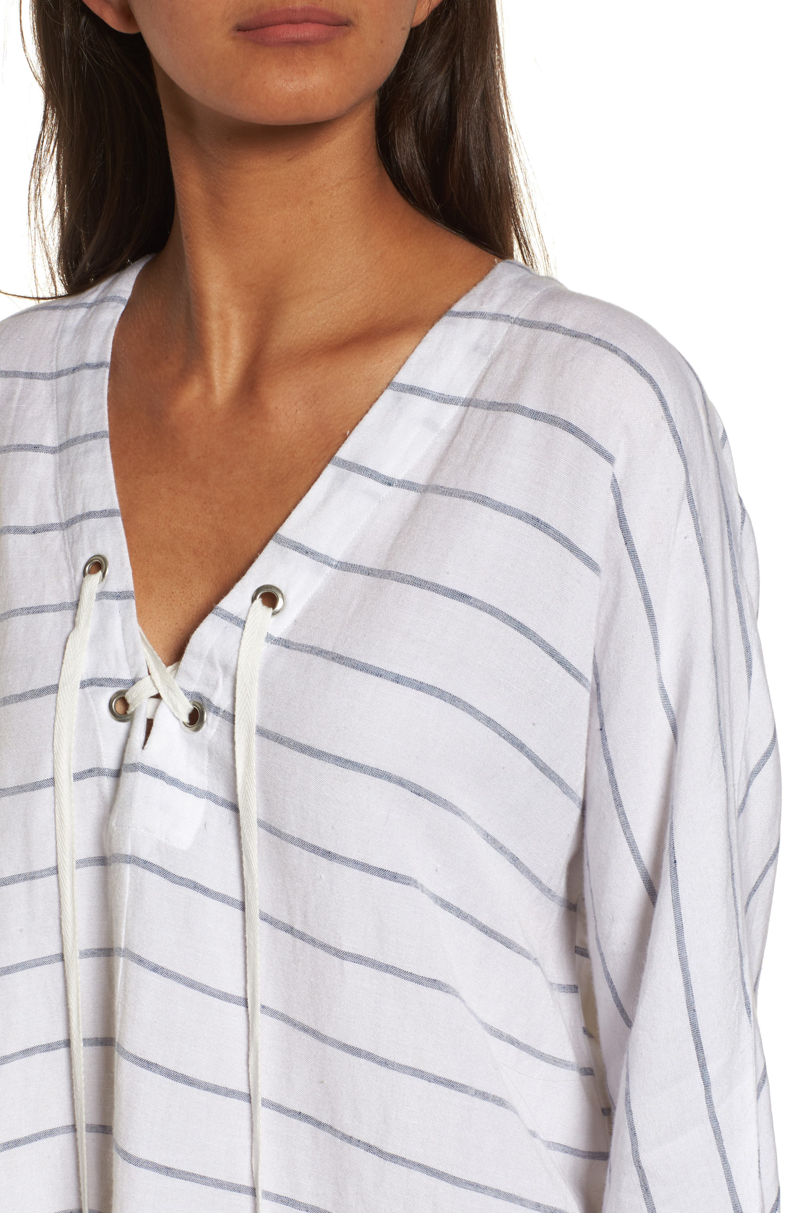 Alternate Image 5  - Rails Lily Lace-Up Blouse
