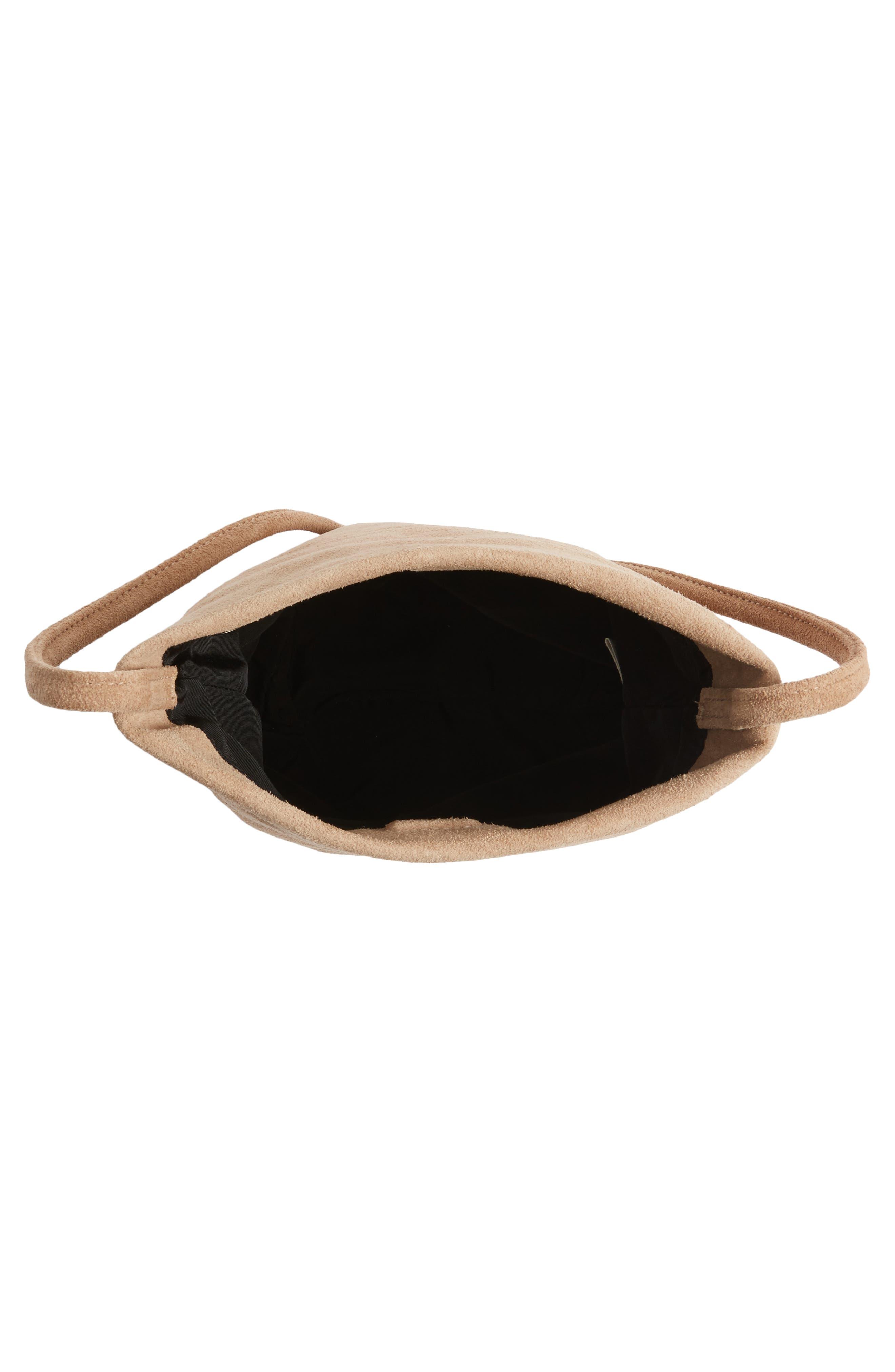 Alternate Image 3  - Baggu Leather Crossbody Bag