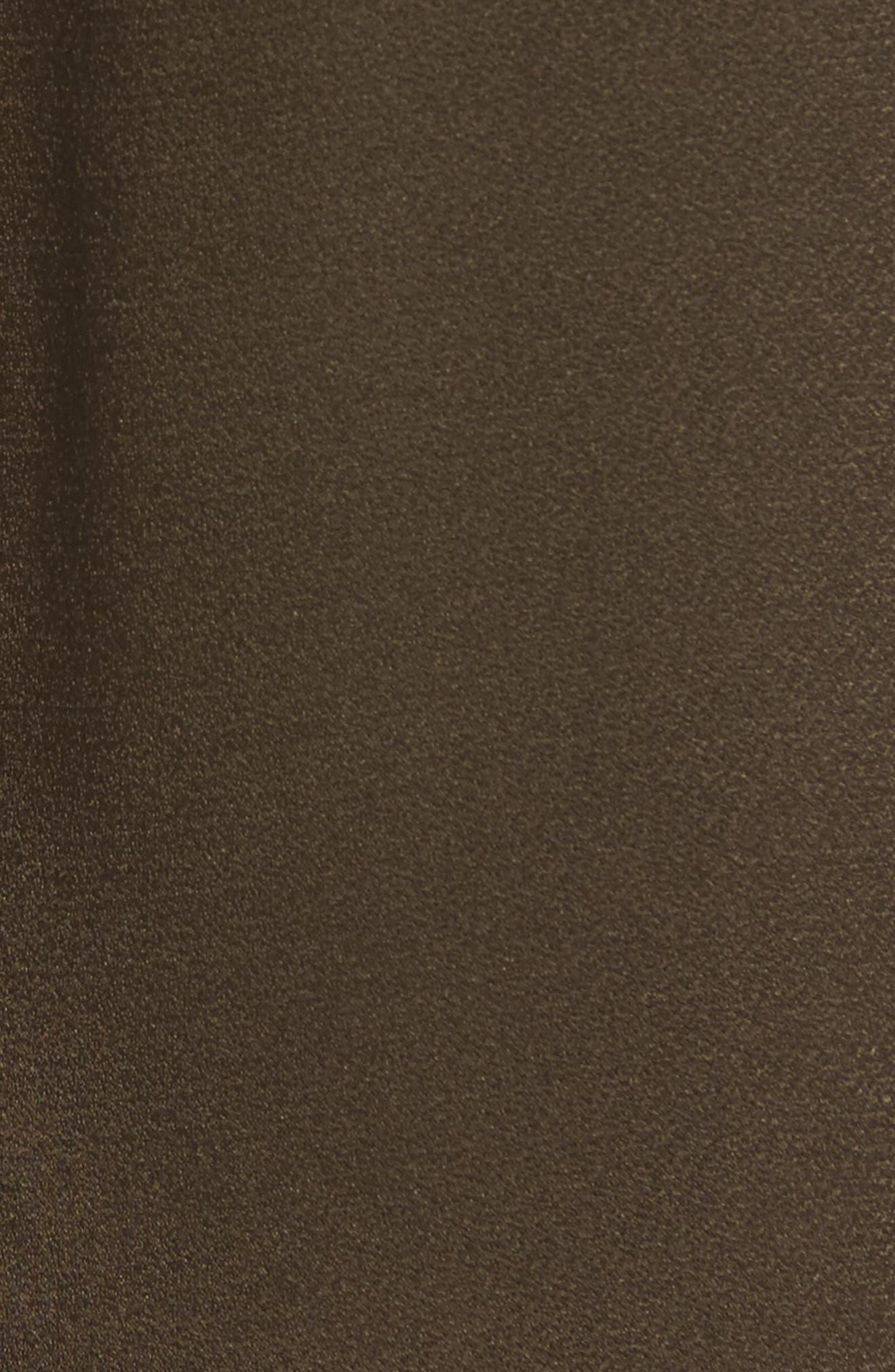 Alternate Image 5  - Nordstrom Signature Satin Jogger Pants