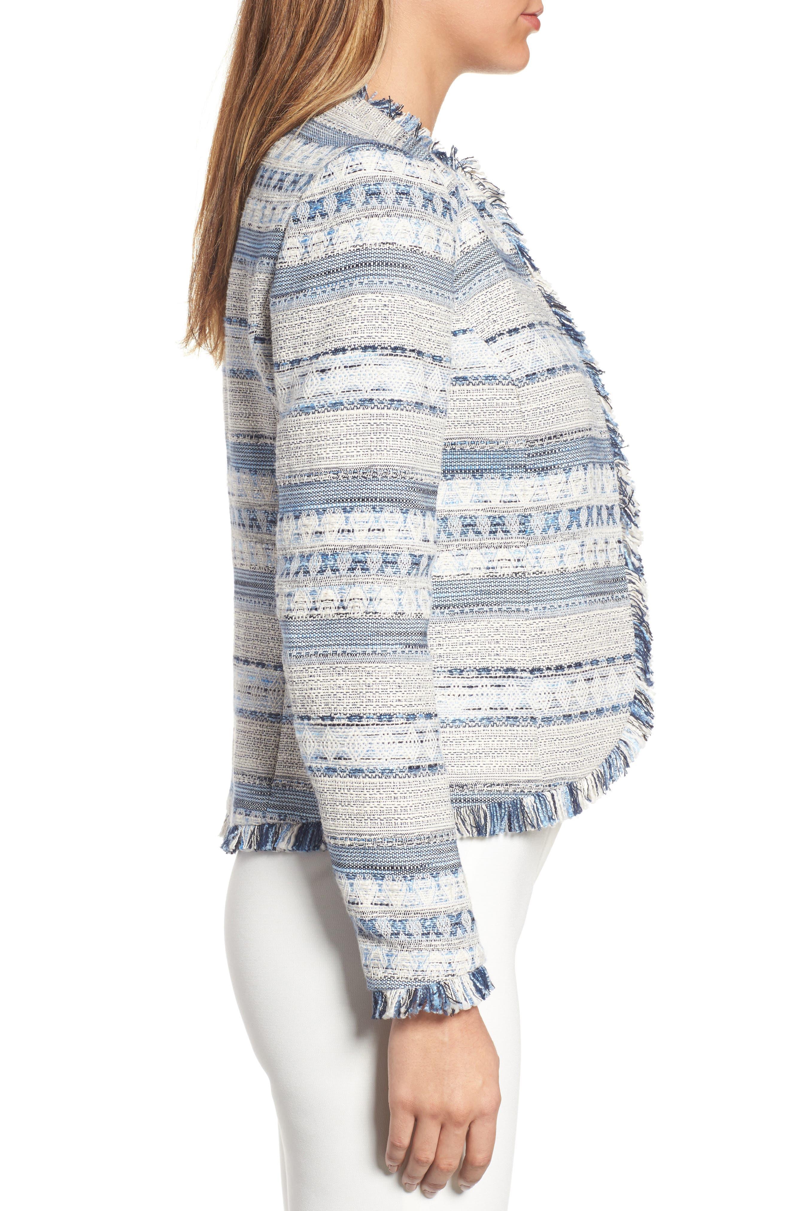 Alternate Image 3  - Anne Klein Tweed Jacket