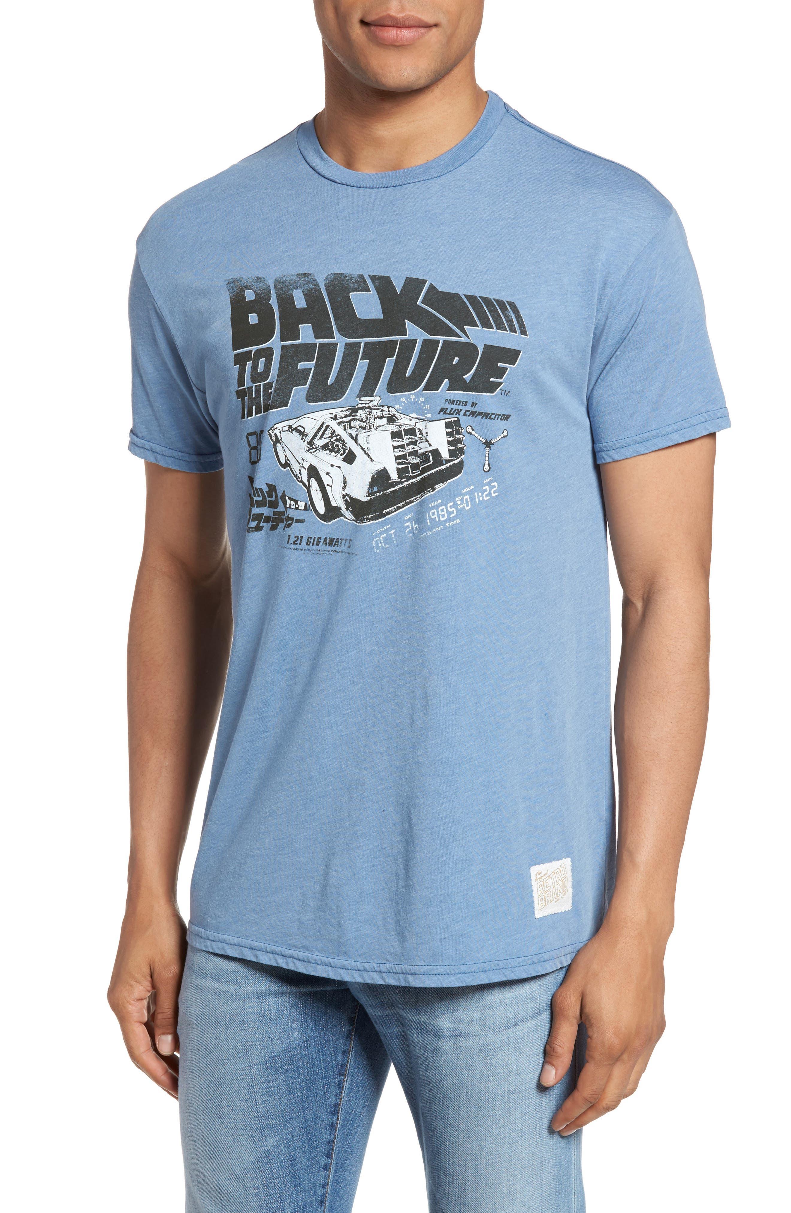 Retro Brand Back to the Future Graphic T-Shirt