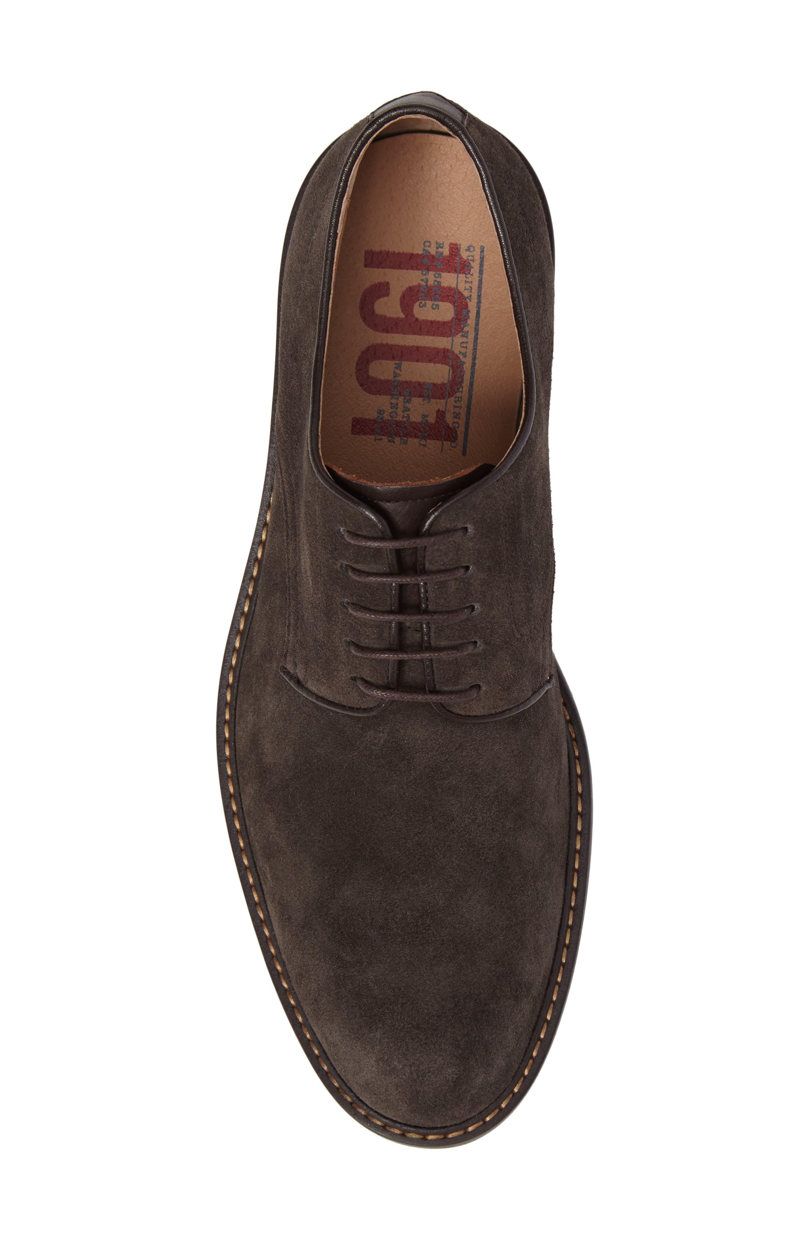 Byron Buck Shoe,                             Alternate thumbnail 4, color,                             Carbon Suede