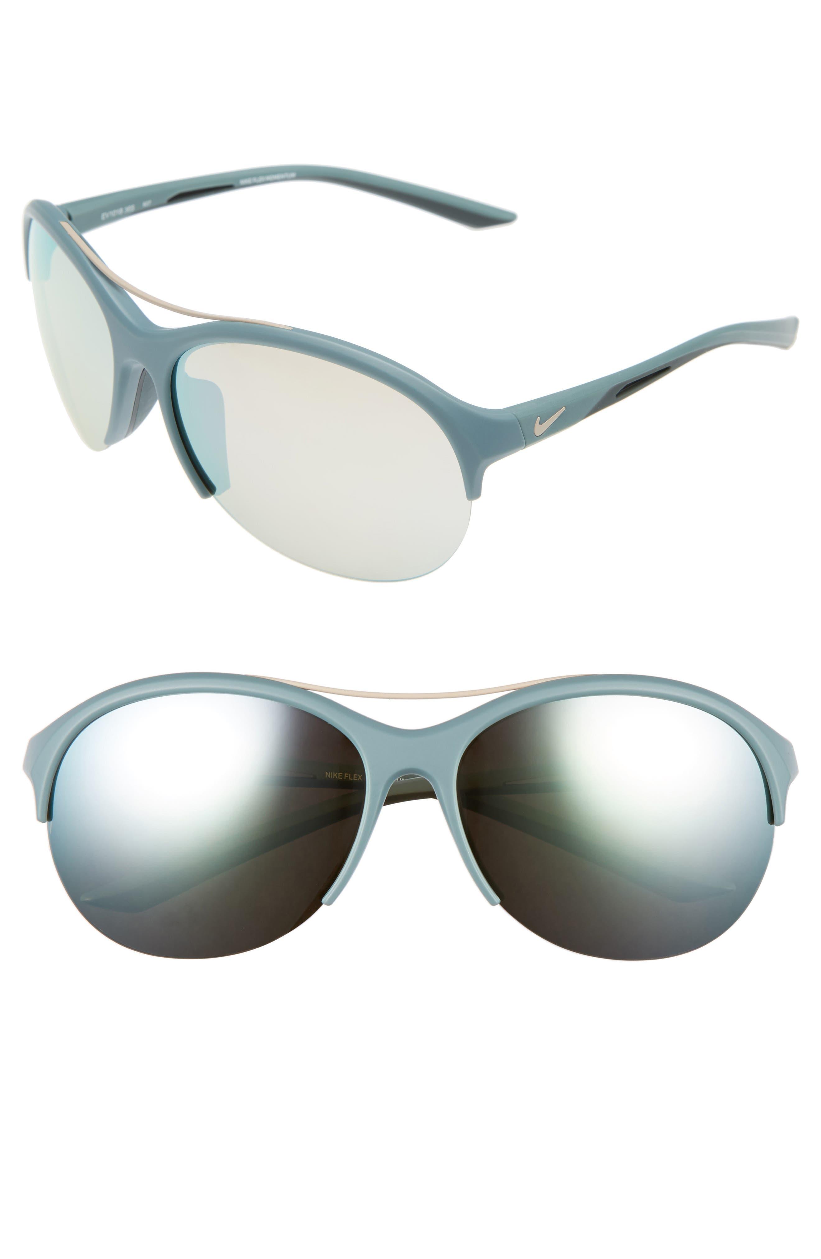 Flex Momentum 66mm Sunglasses,                         Main,                         color, Matte Hasta