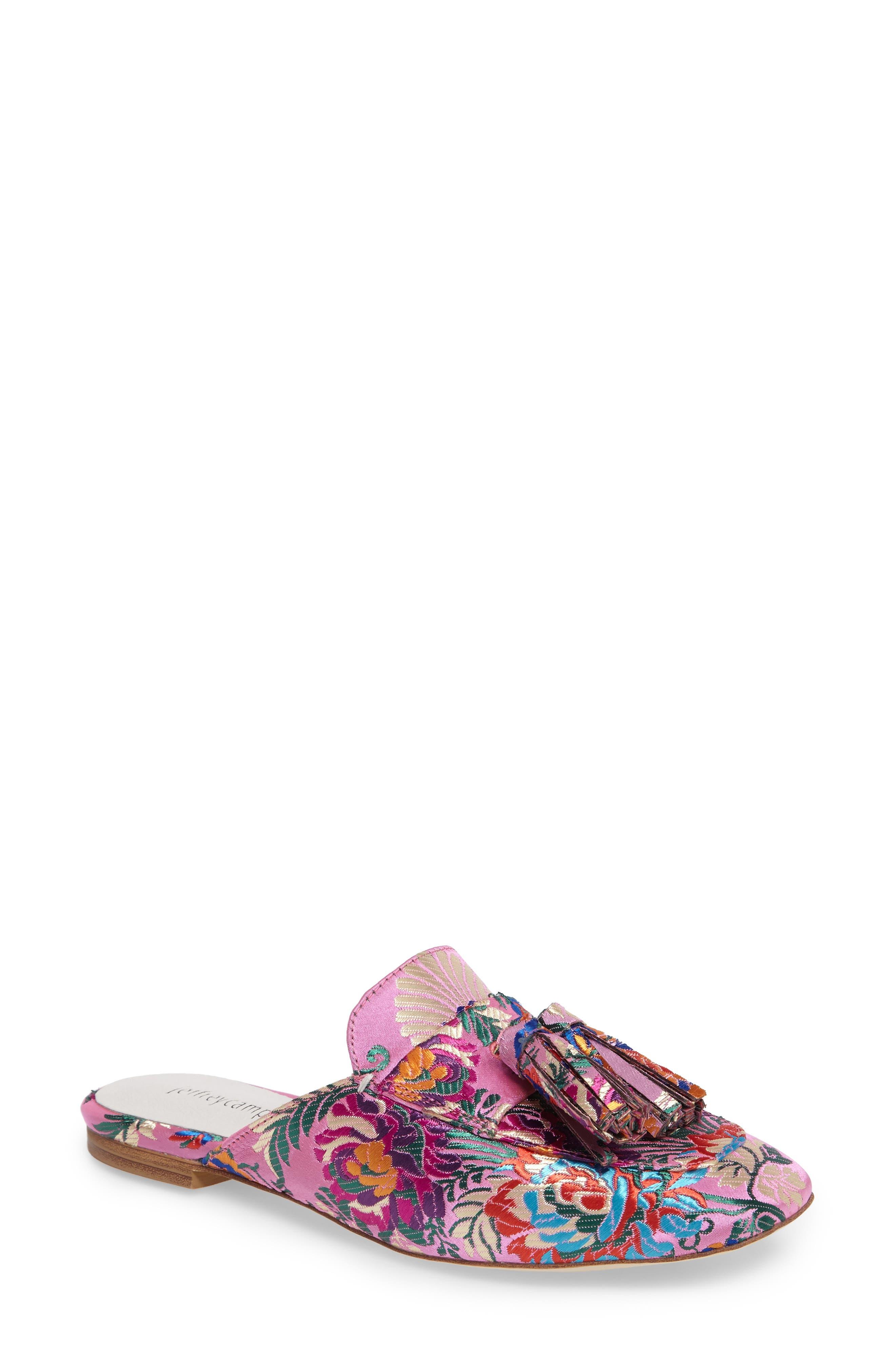 Main Image - Jeffrey Campbell Ravis Tassel Loafer Mule (Women)