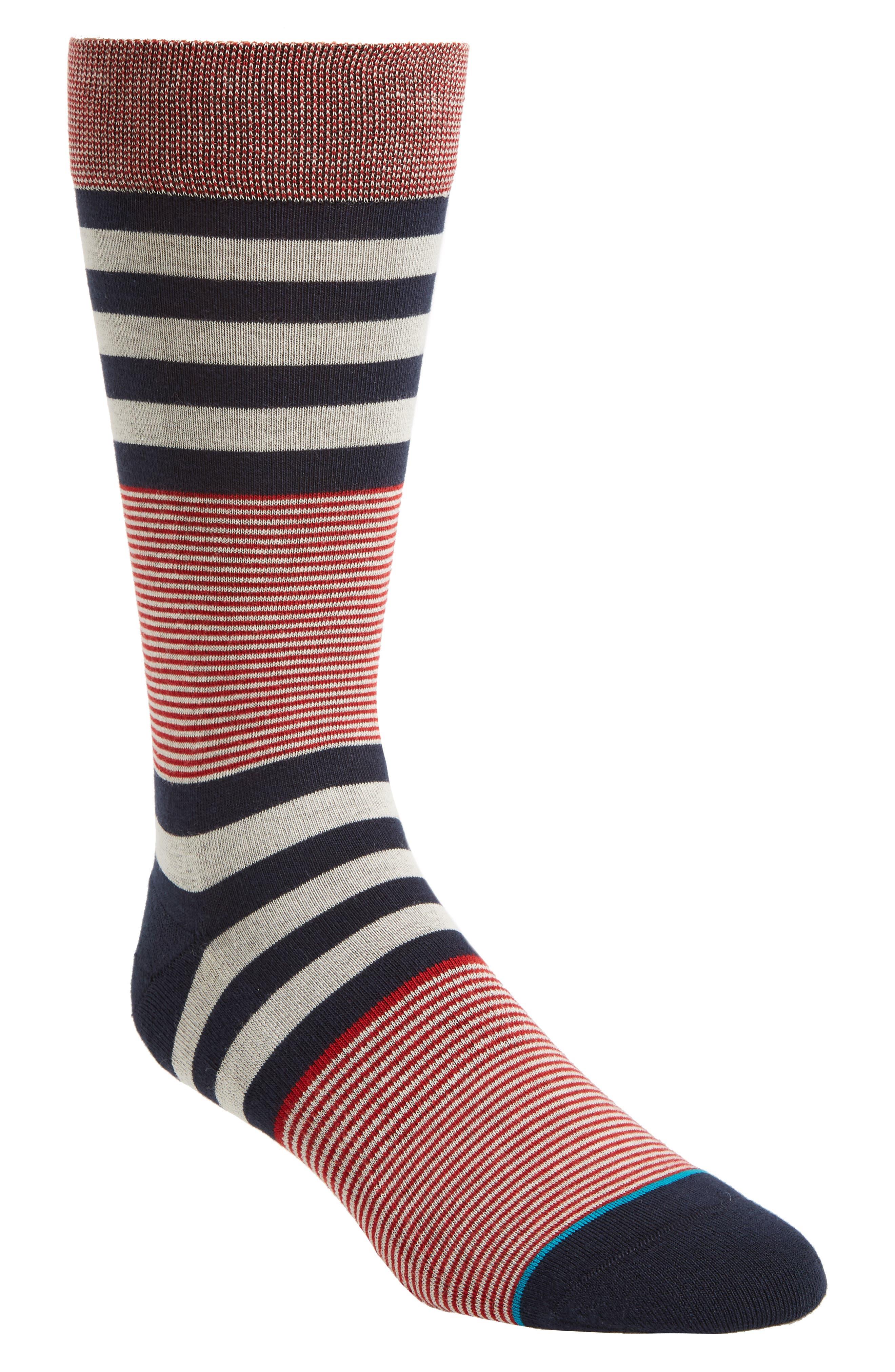Americanas Socks,                             Main thumbnail 1, color,                             Black