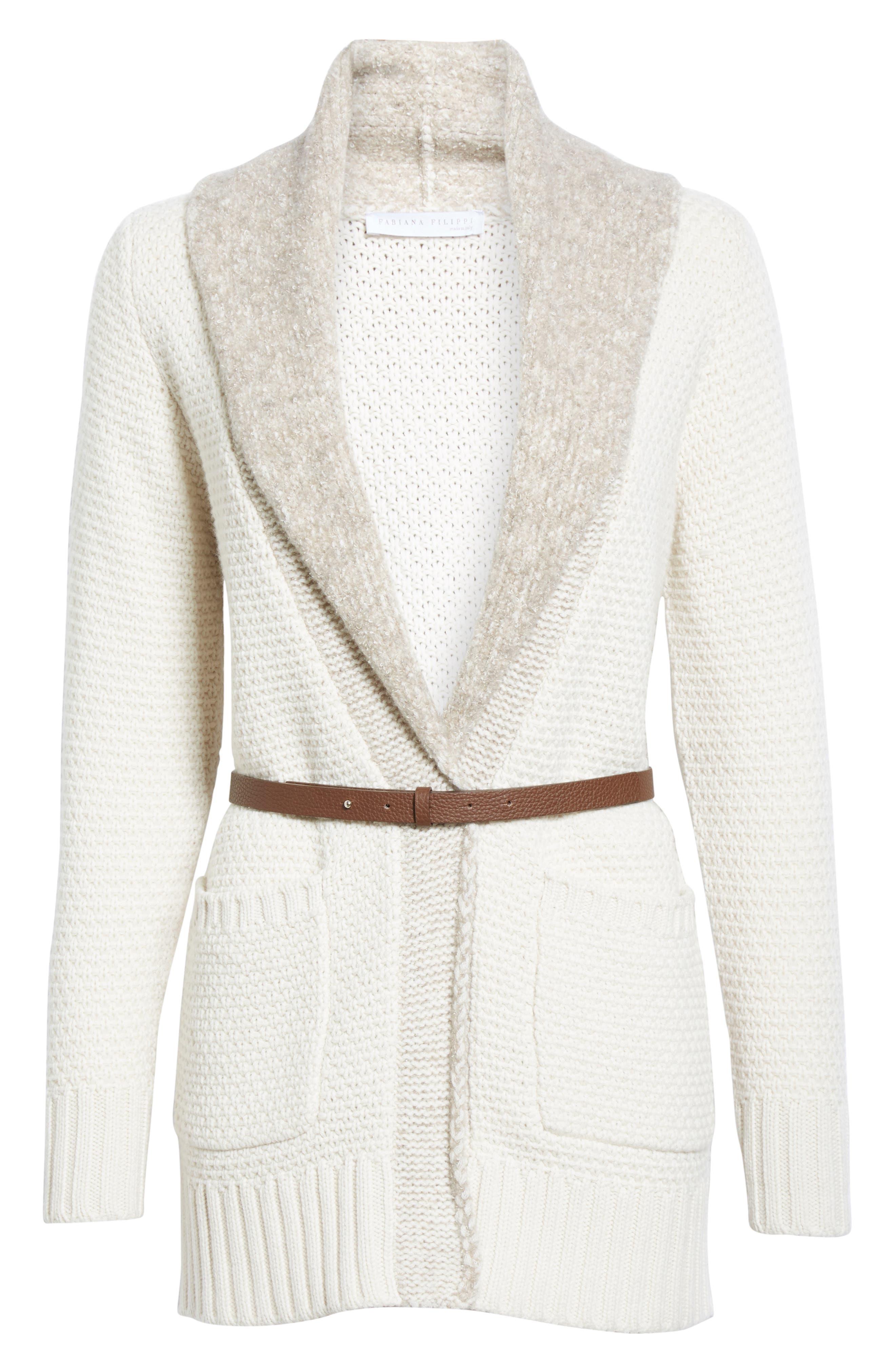 Alternate Image 4  - Fabiana Filippi Wool, Silk & Cashmere Knit Cardigan
