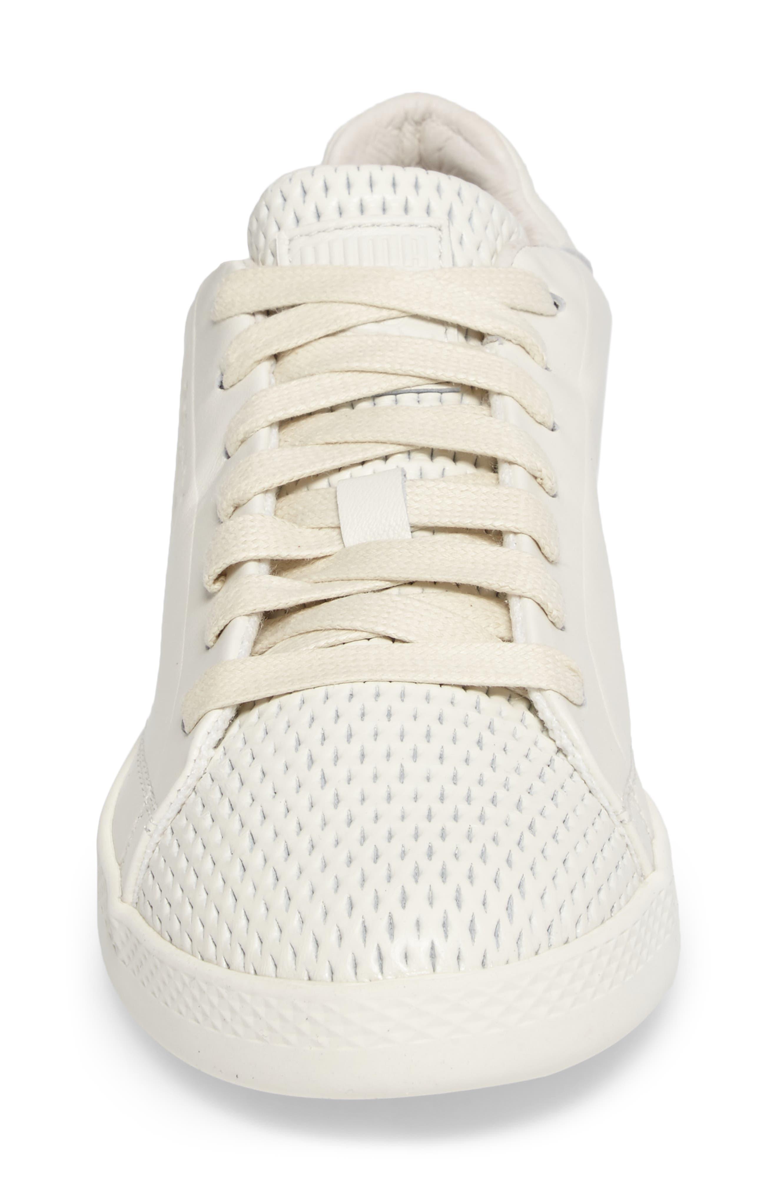 Match Lo Open Sneaker,                             Alternate thumbnail 4, color,                             Whisper White/ Whisper White
