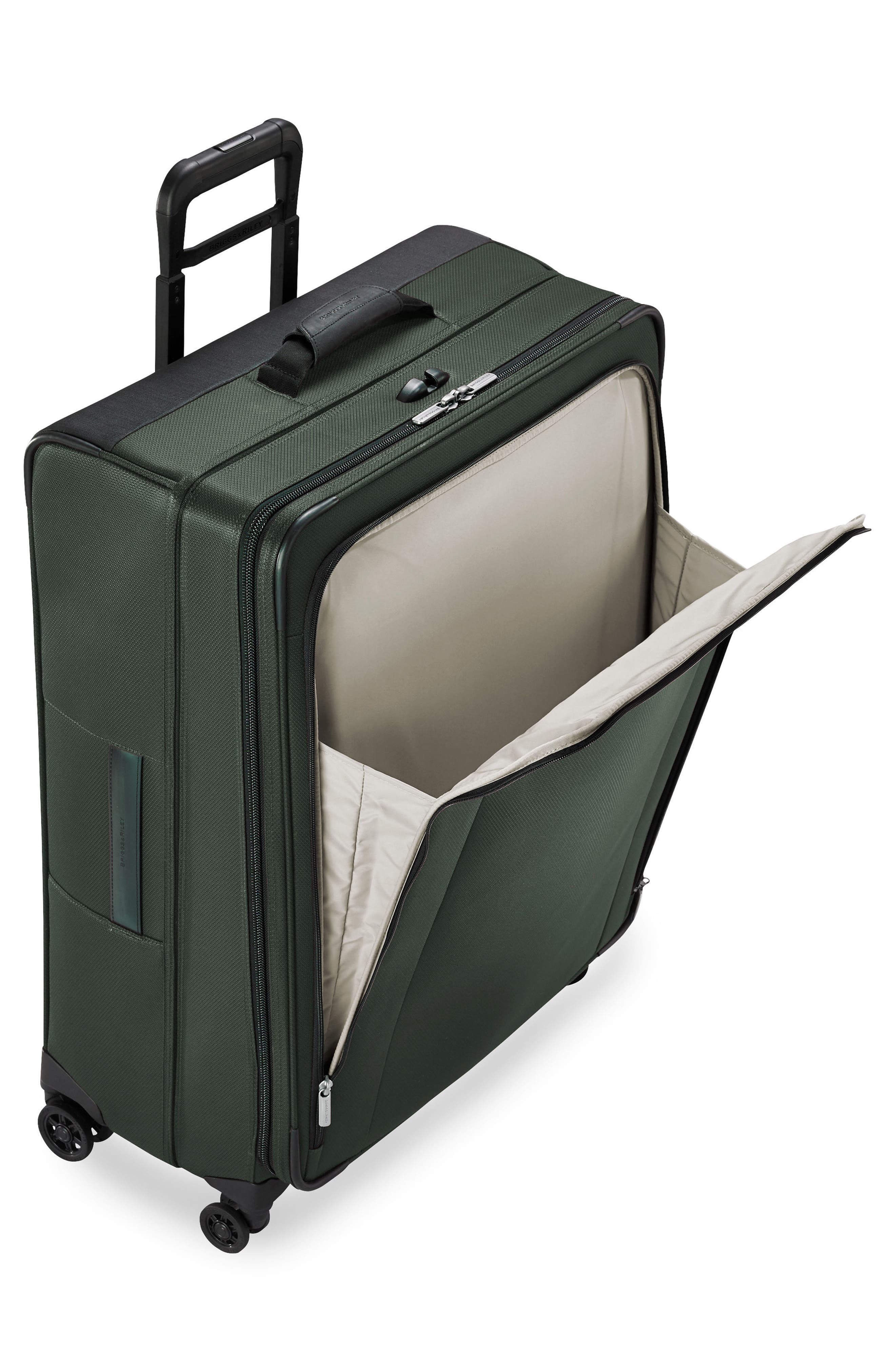 Transcend VX Large Expandable 29-Inch Spinner Suitcase,                             Alternate thumbnail 4, color,                             Rainforest Green