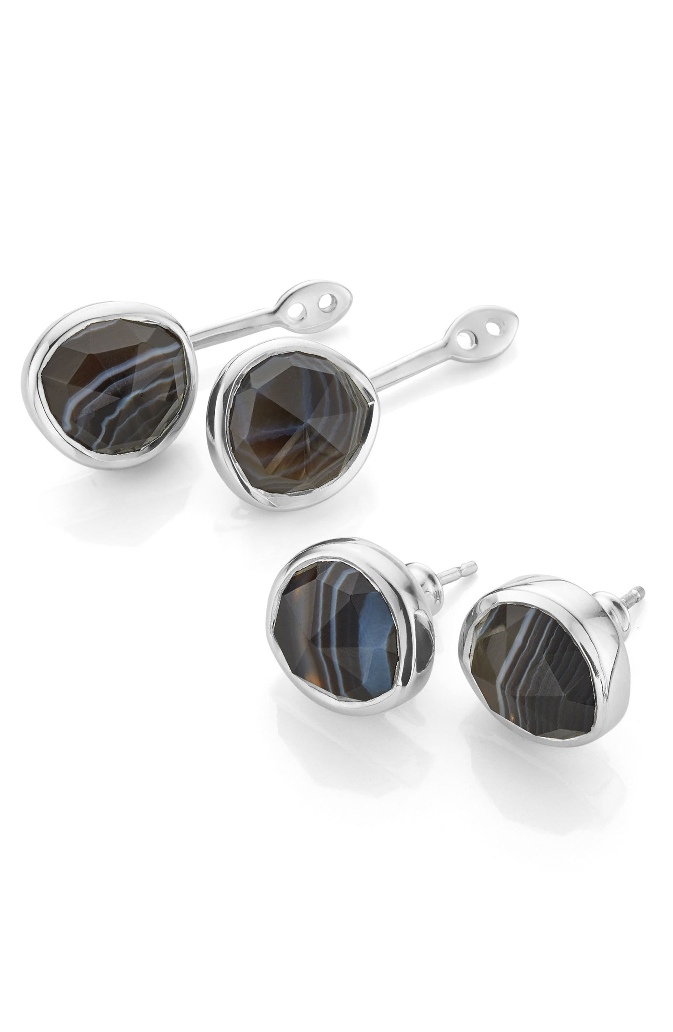 Alternate Image 1 Selected - Monica Vinader Siren Semiprecious Stone Ear Jackets