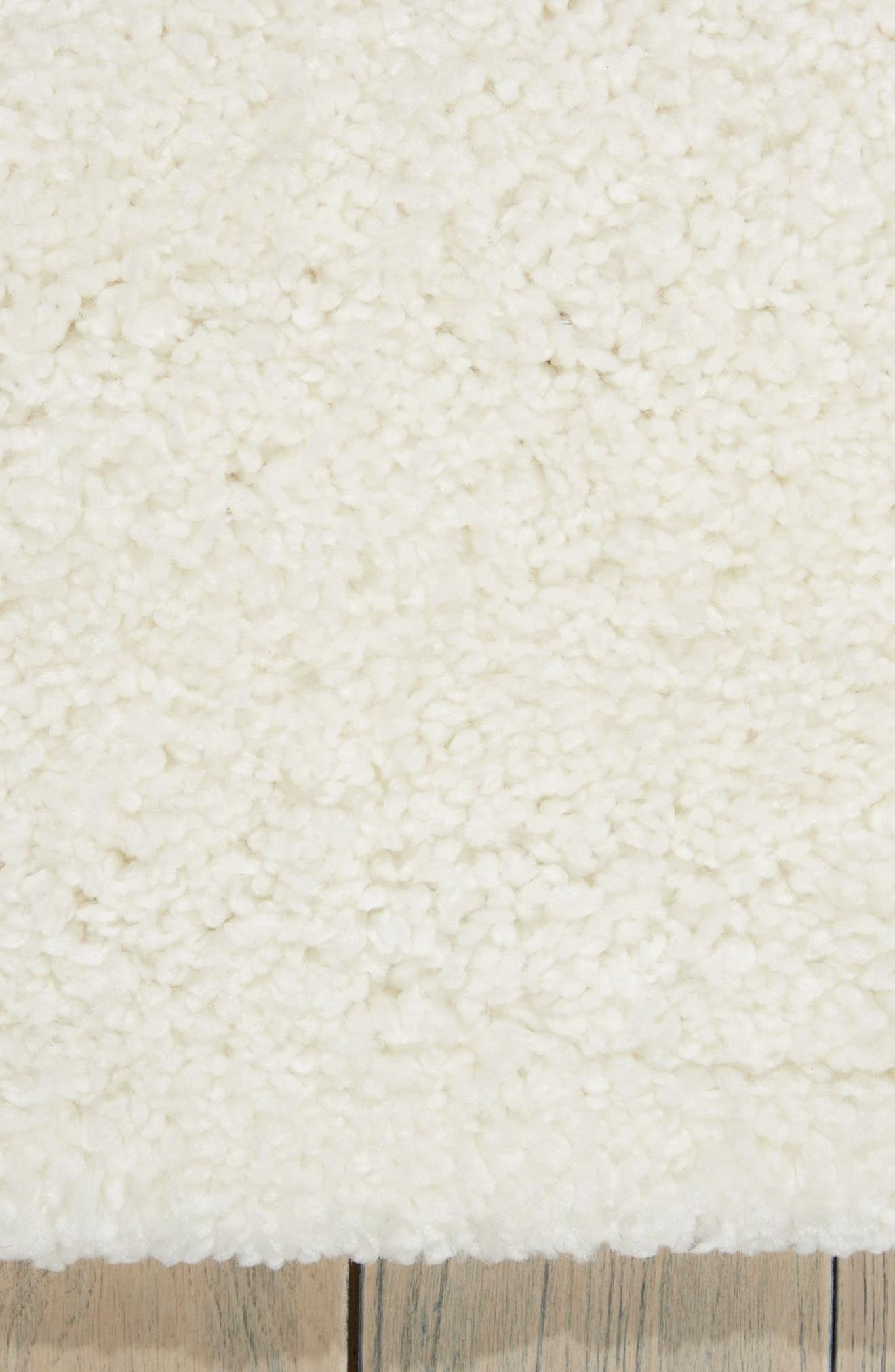 Riad Collection Shag Pile Area Rug,                             Alternate thumbnail 2, color,                             Ivory
