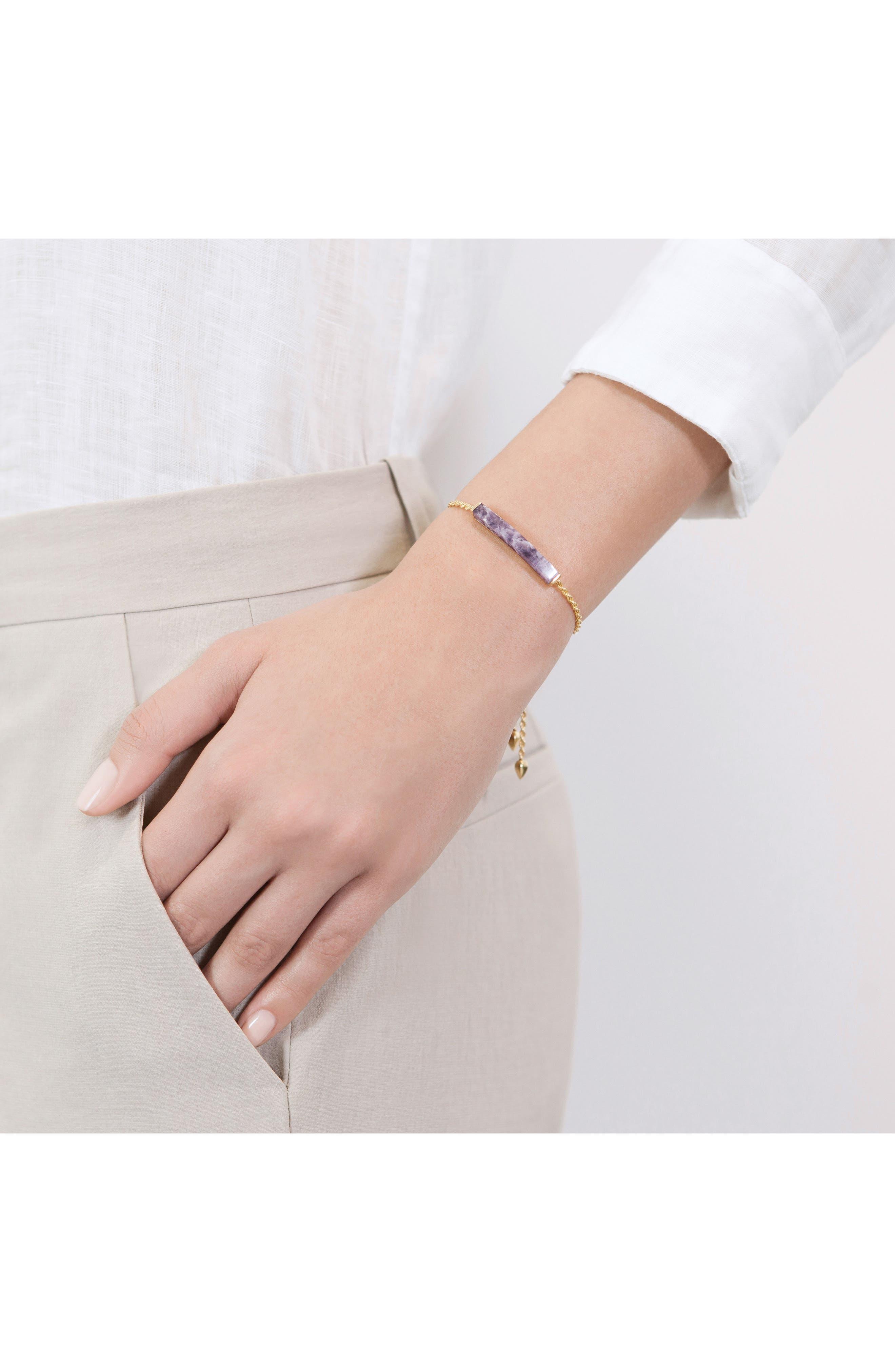Alternate Image 3  - Monica Vinader Linear Stone Friendship Bracelet