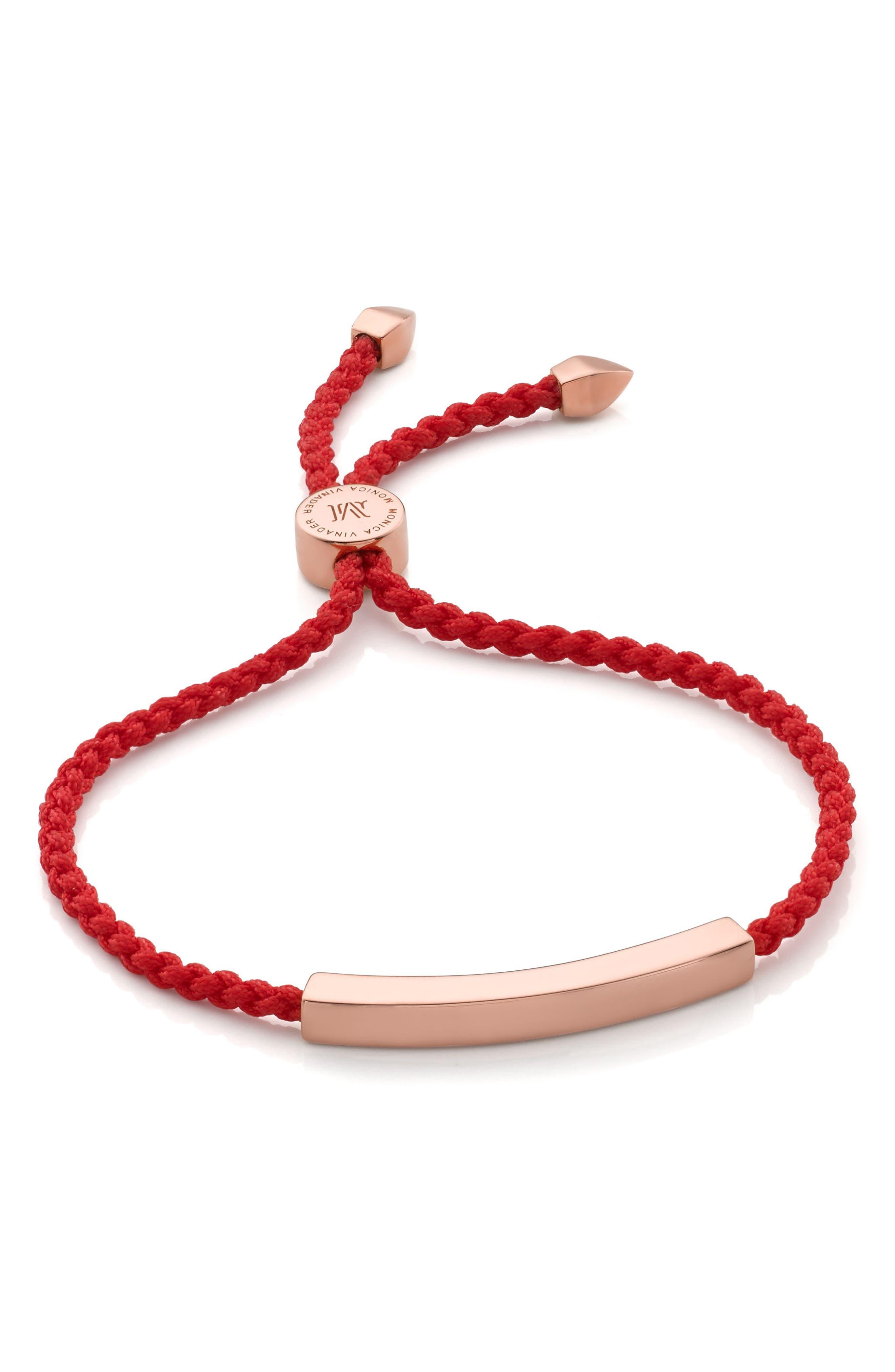 Main Image - Monica Vinader Linear Bar Friendship Bracelet