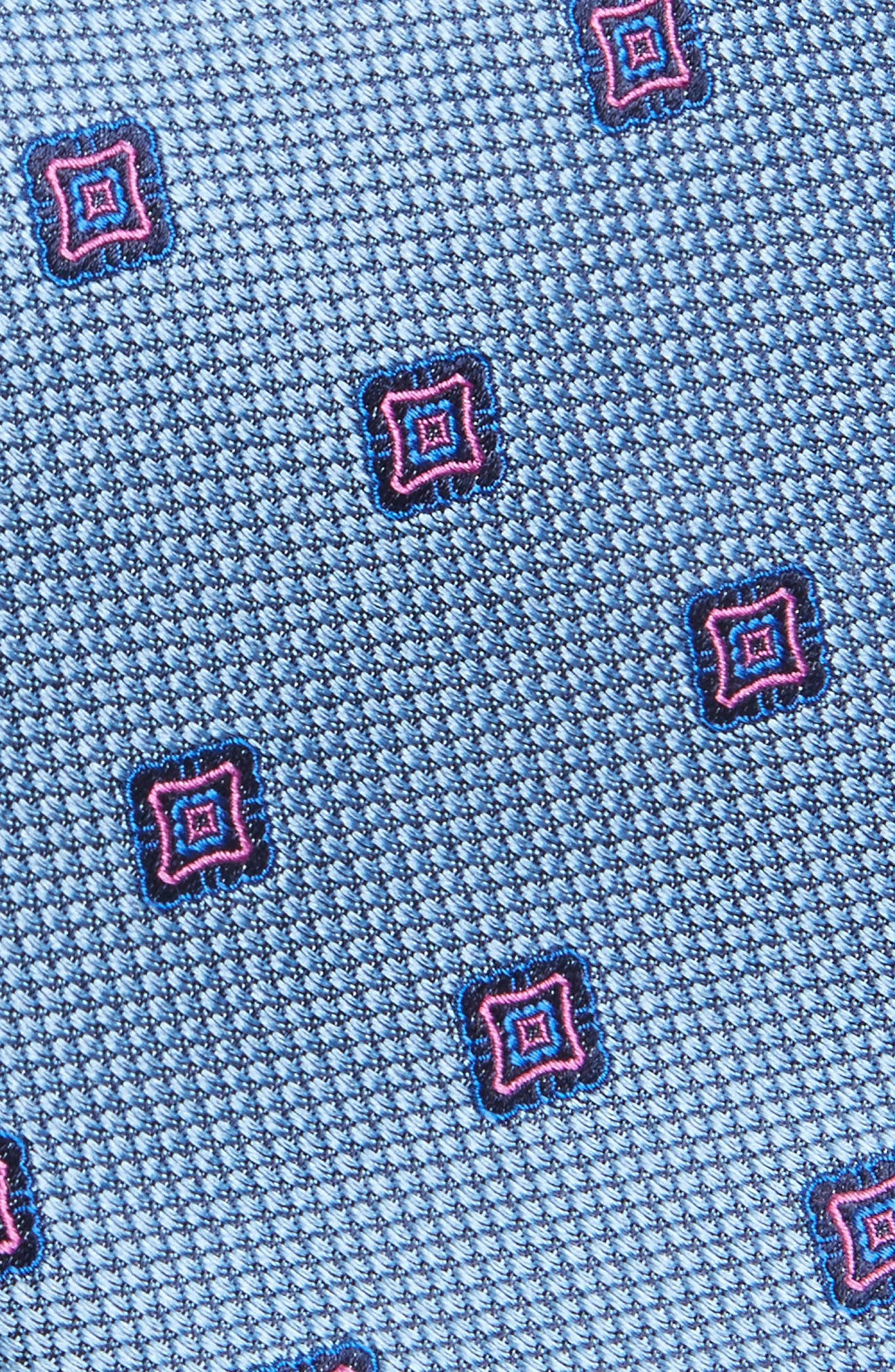 Alternate Image 2  - Nordstrom Men's Shop Medallion Silk Tie
