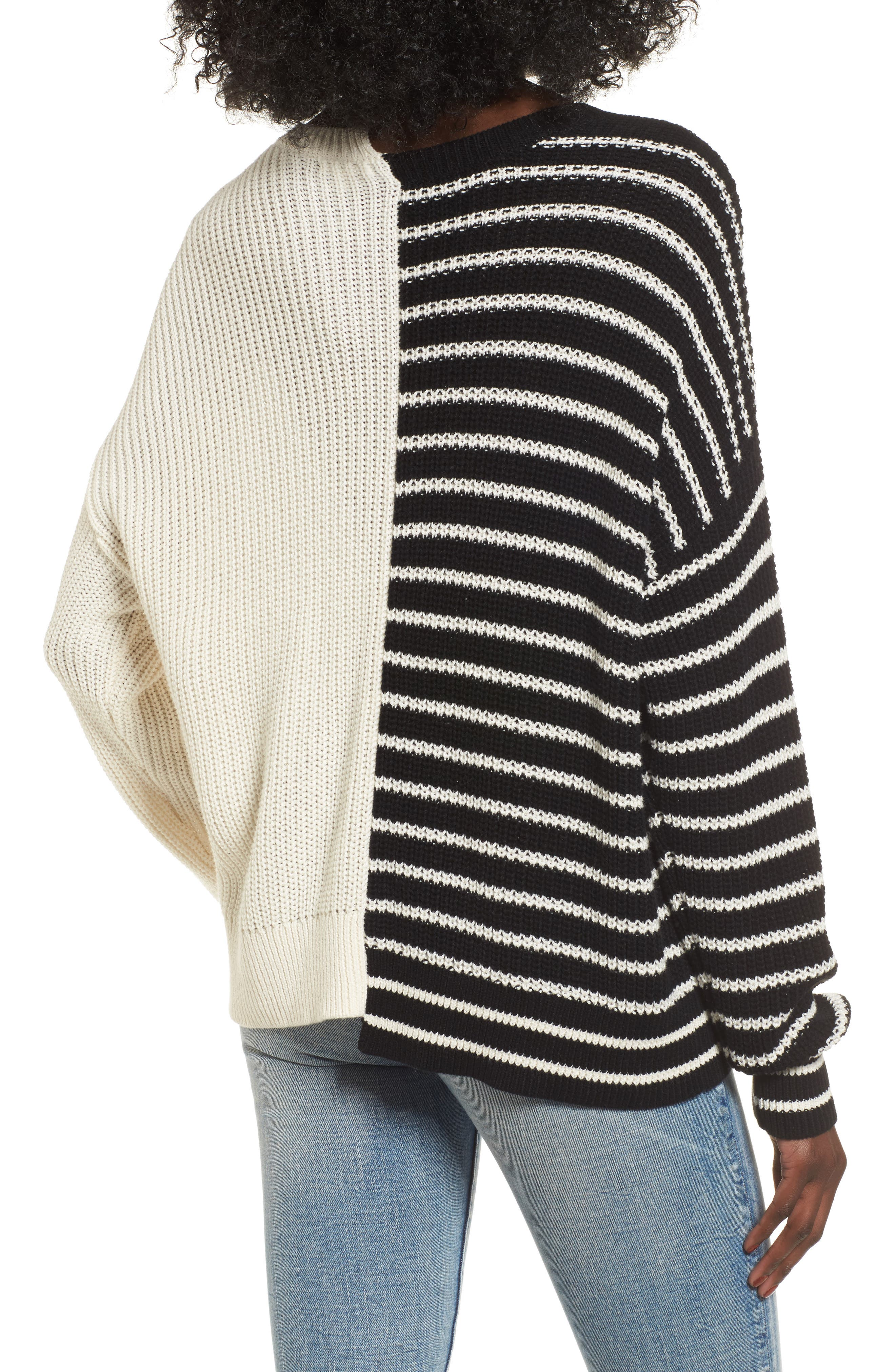 Alternate Image 2  - BP. Colorblock Cotton Sweater