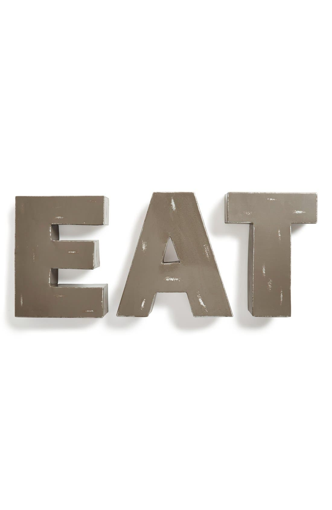 Alternate Image 1 Selected - Foreside 'Eat' Decorative Metal Letters