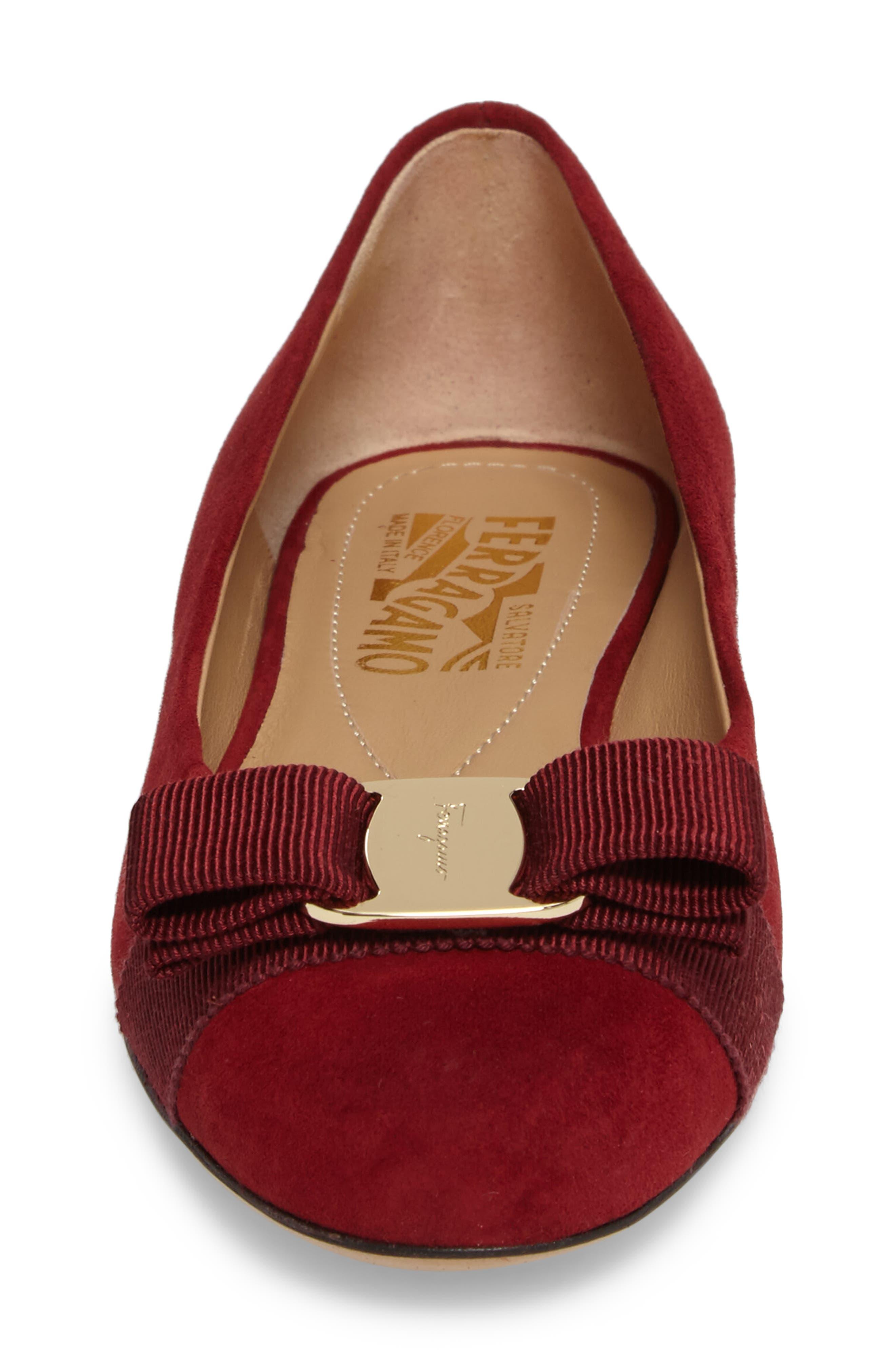 Alternate Image 4  - Salvatore Ferragamo 'Varina' Leather Flat (Women)