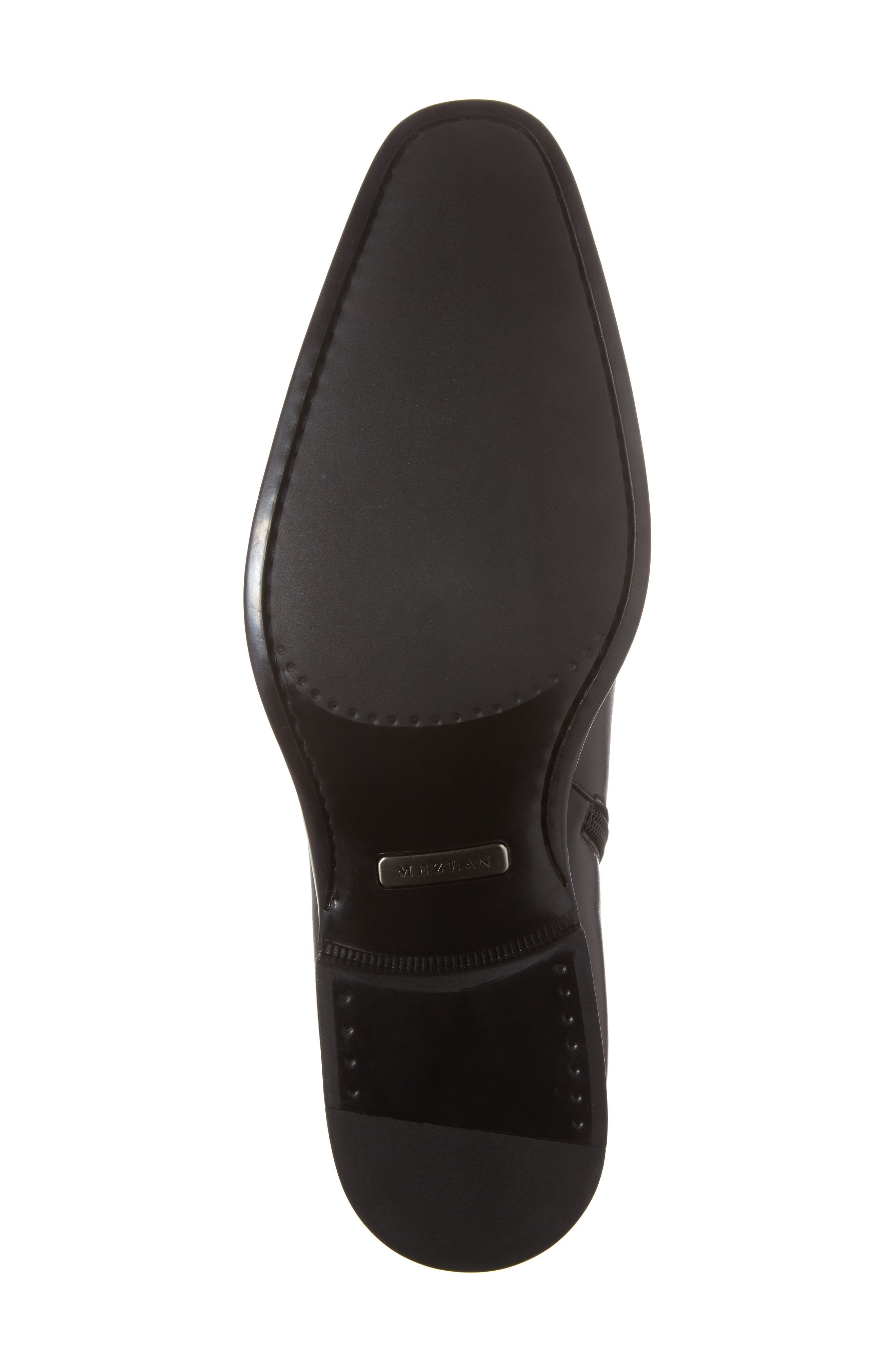 Casares II Zip Boot,                             Alternate thumbnail 6, color,                             Black