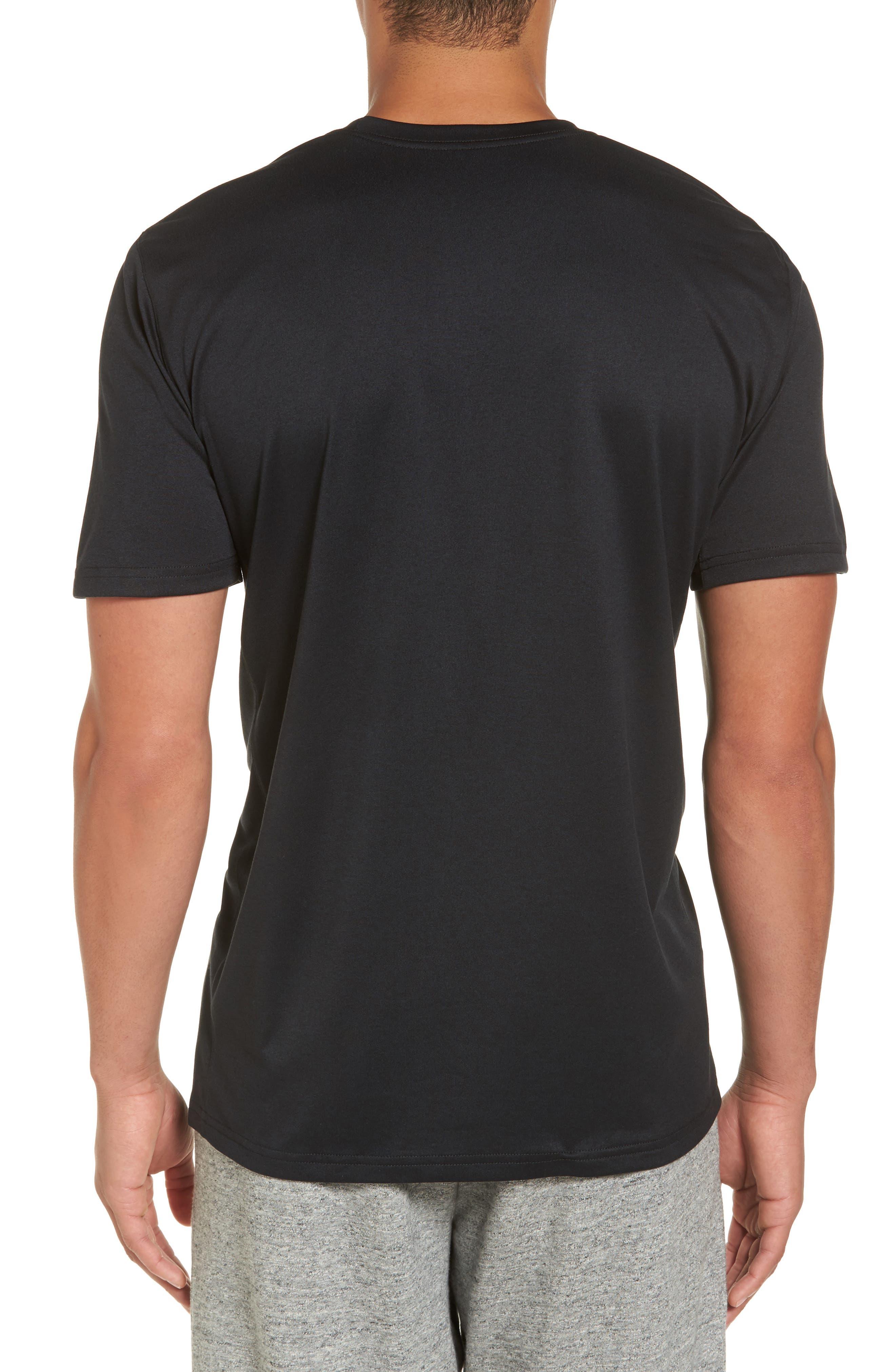 Dry Legend Training T-Shirt,                             Alternate thumbnail 2, color,                             Black