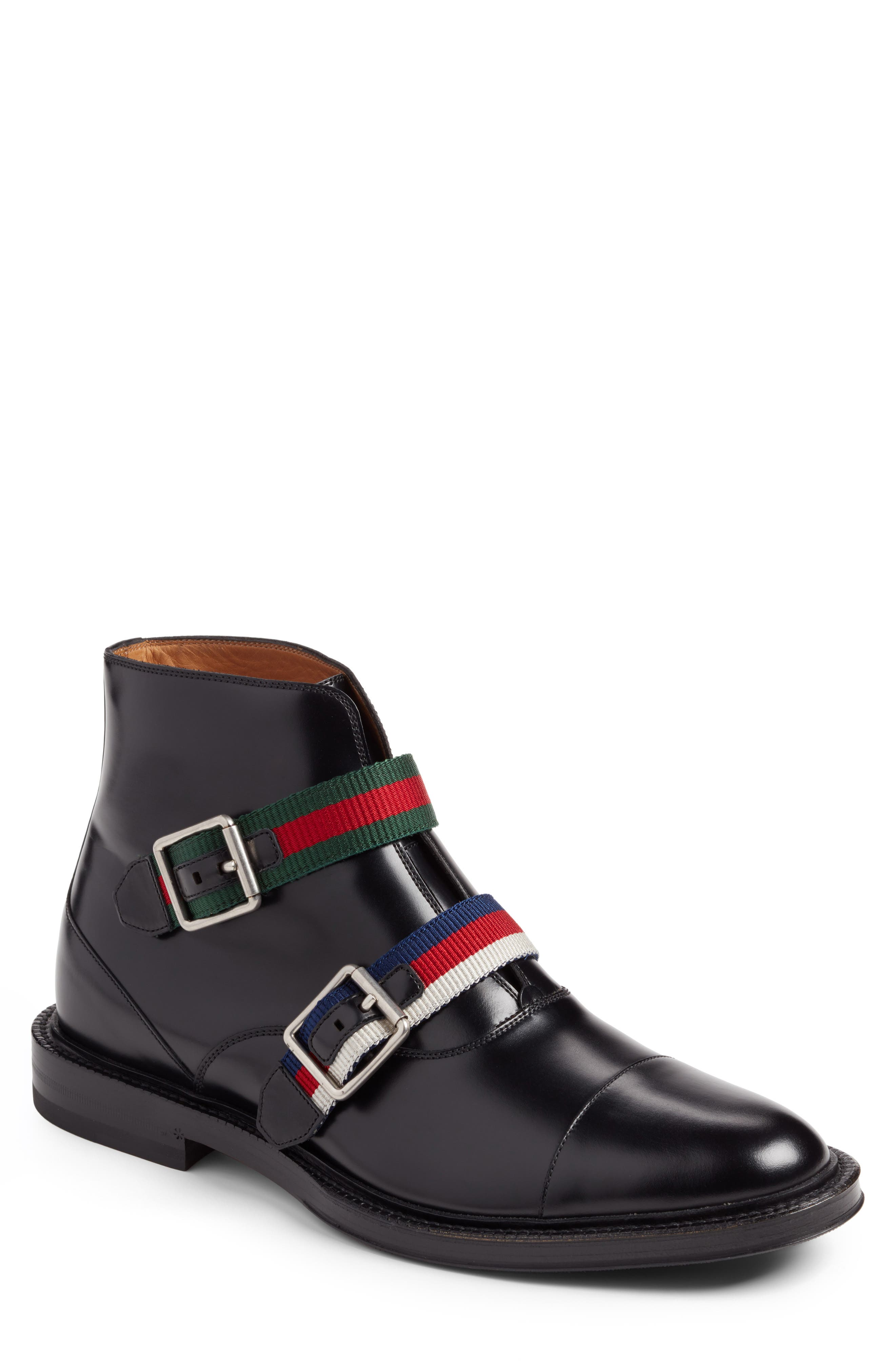 Alternate Image 1 Selected - Gucci Beyond Belted Boot (Men)