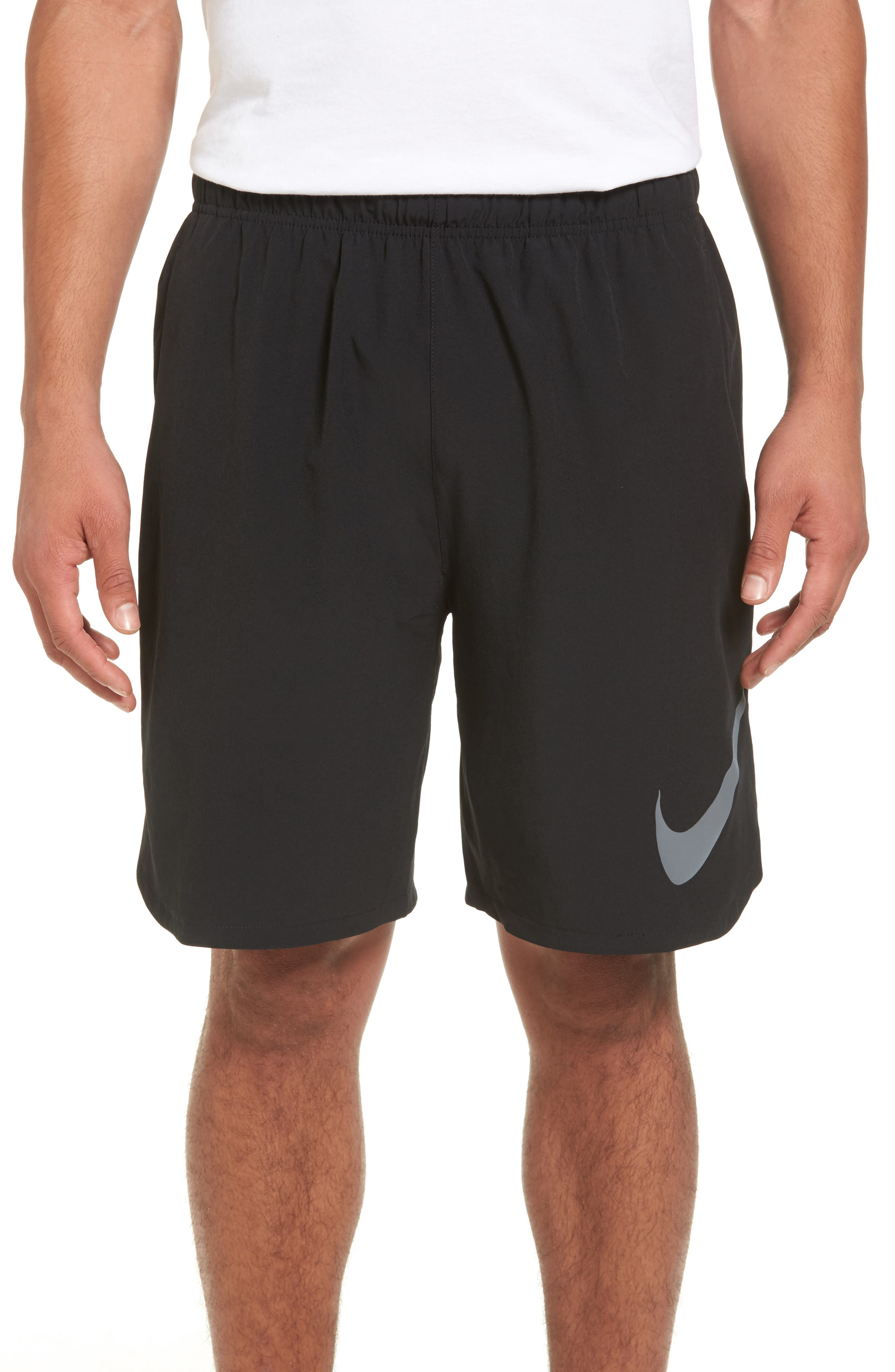 Flex Training Shorts,                             Main thumbnail 1, color,                             Black/ Cool Grey
