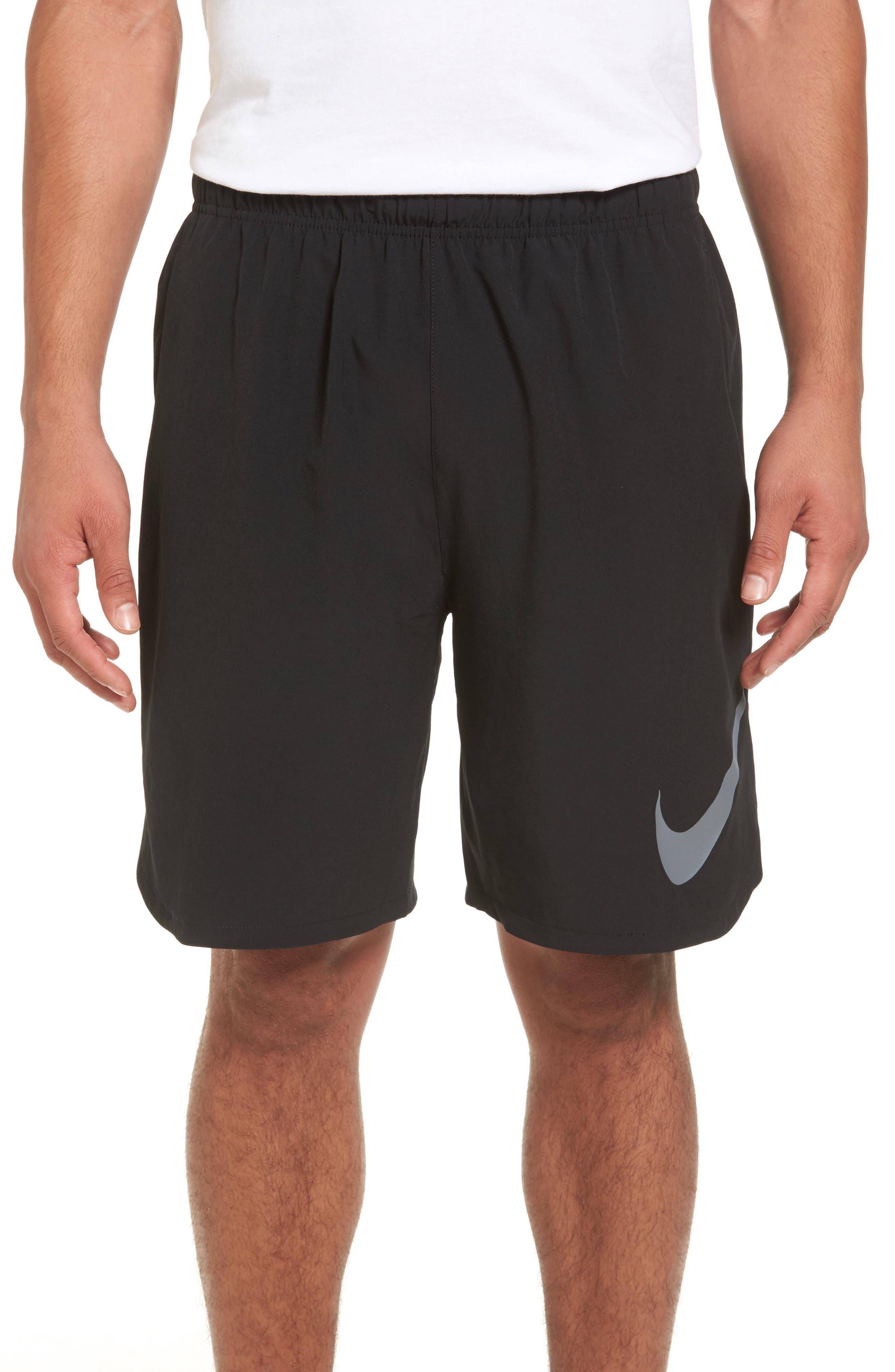 Flex Training Shorts,                         Main,                         color, Black/ Cool Grey