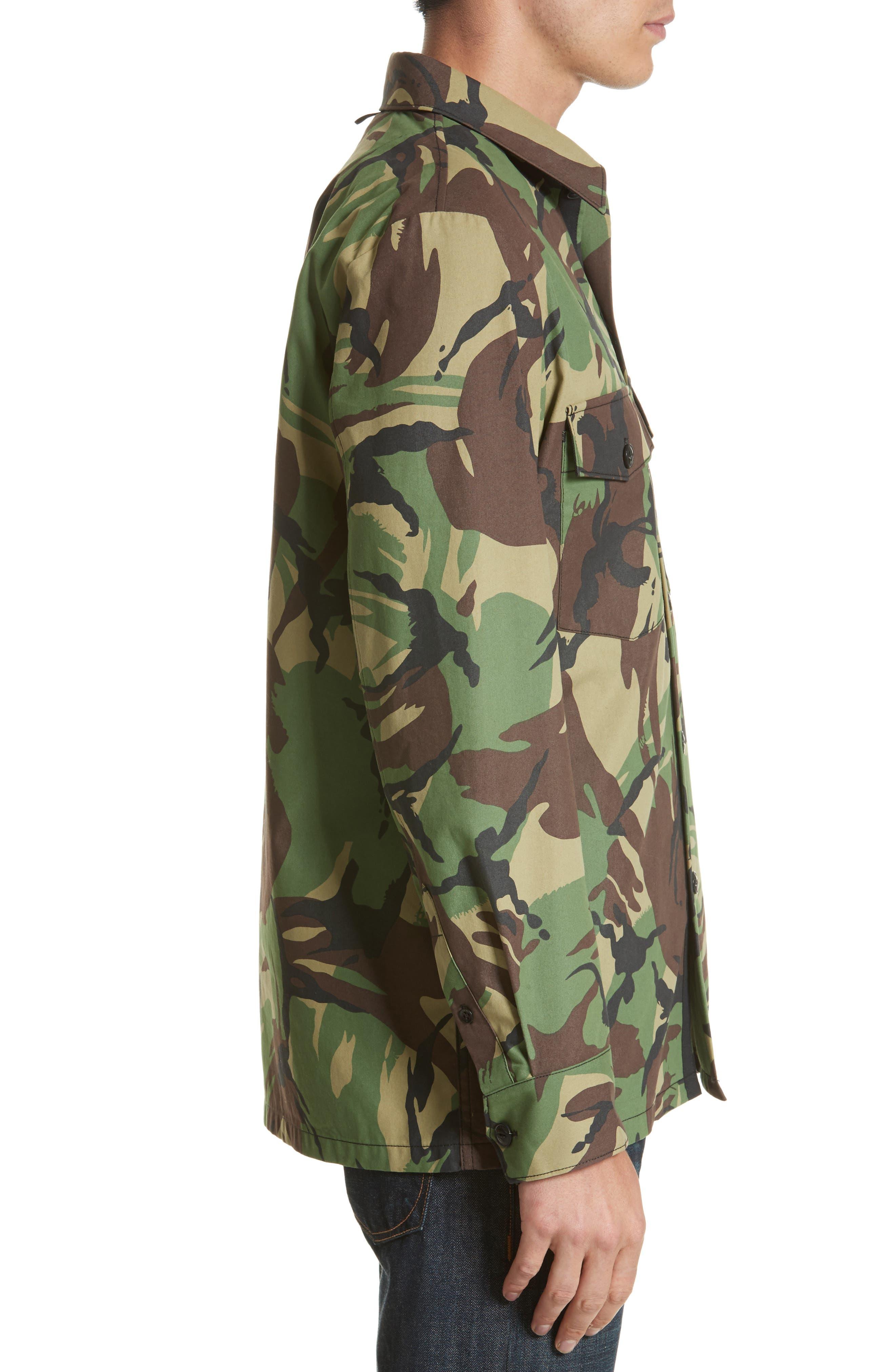 Alternate Image 3  - rag & bone Heath Camo Shirt Jacket