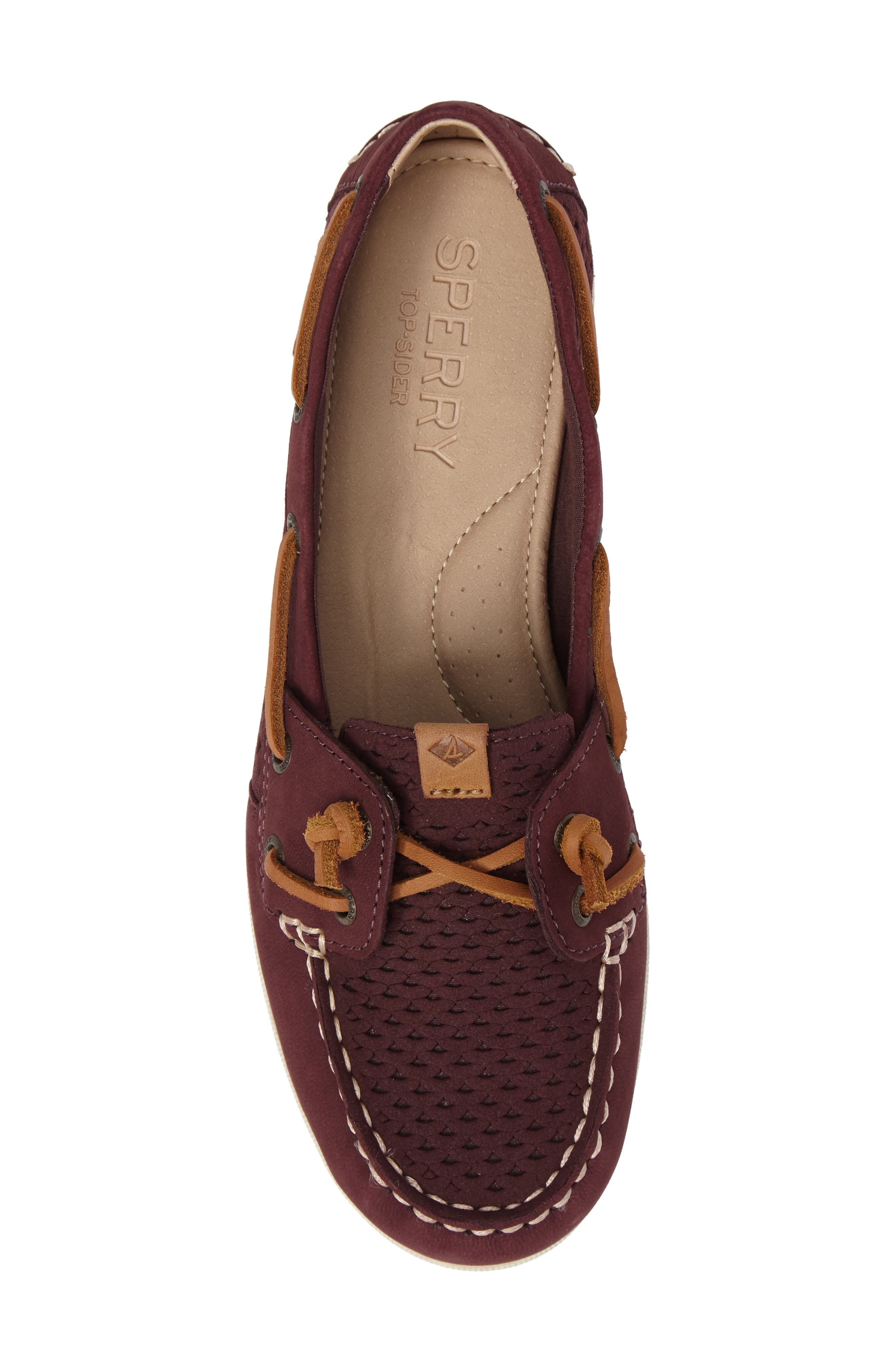 Alternate Image 5  - Sperry Coil Ivy Perforated Boat Shoe (Women)