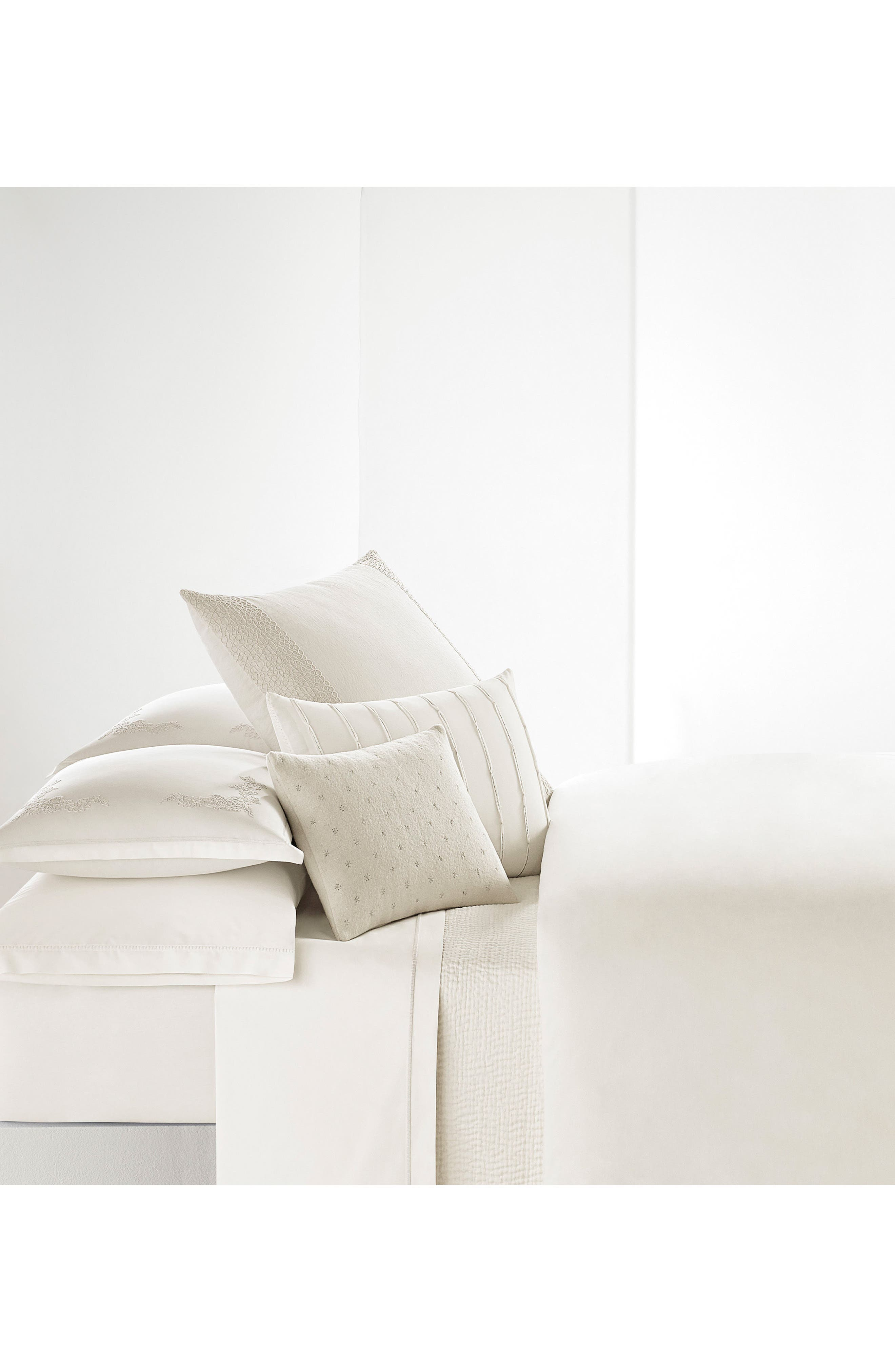 Alternate Image 3  - Vera Wang Passementerie Breakfast Linen Accent Pillow