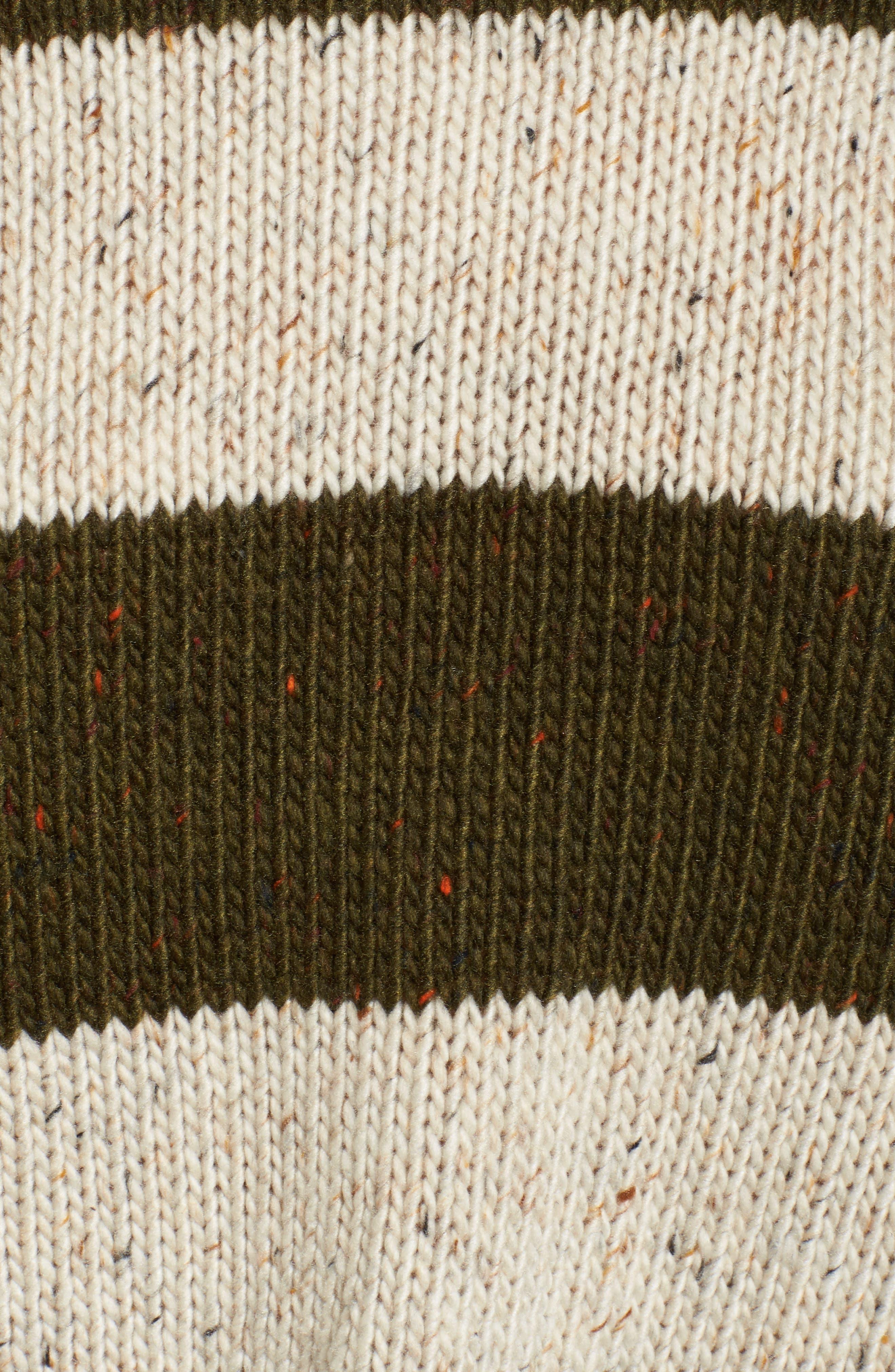 Alternate Image 5  - BP. Distressed Stripe Pullover