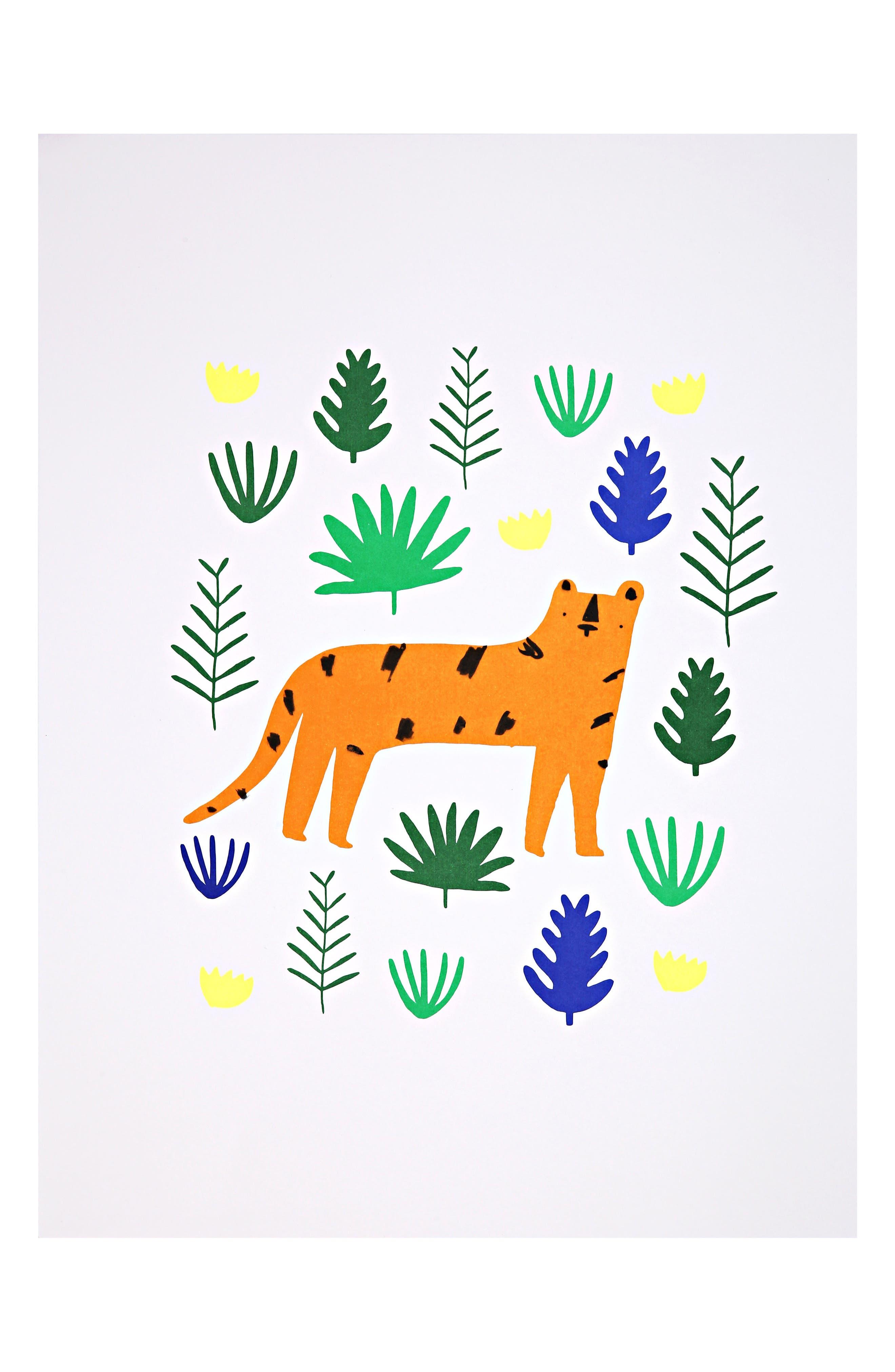 Jungle 2-Pack Art Prints,                         Main,                         color, Green