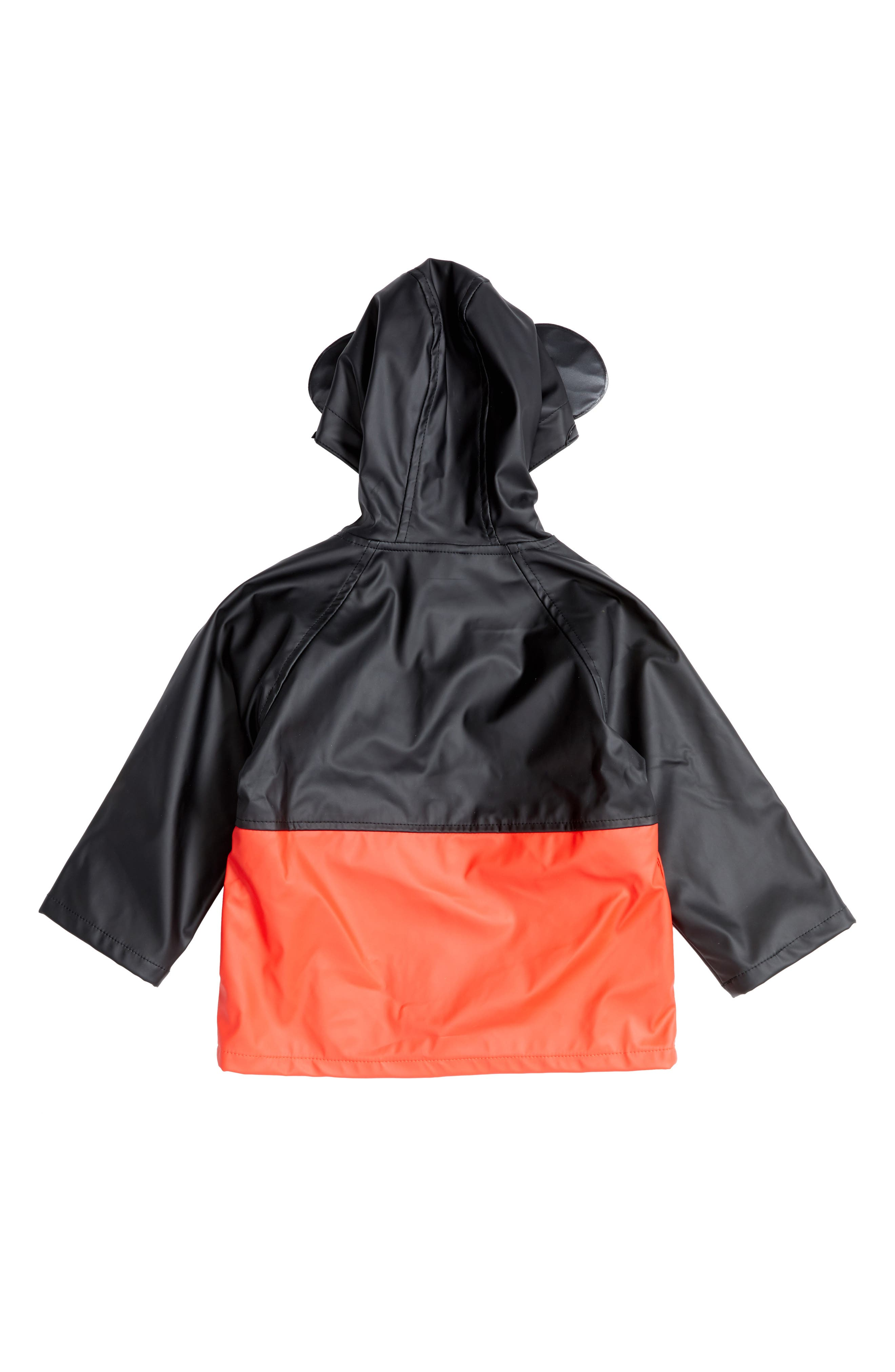 Alternate Image 2  - Western Chief Mickey Mouse Hooded Raincoat (Toddler Boys & Little Boys)