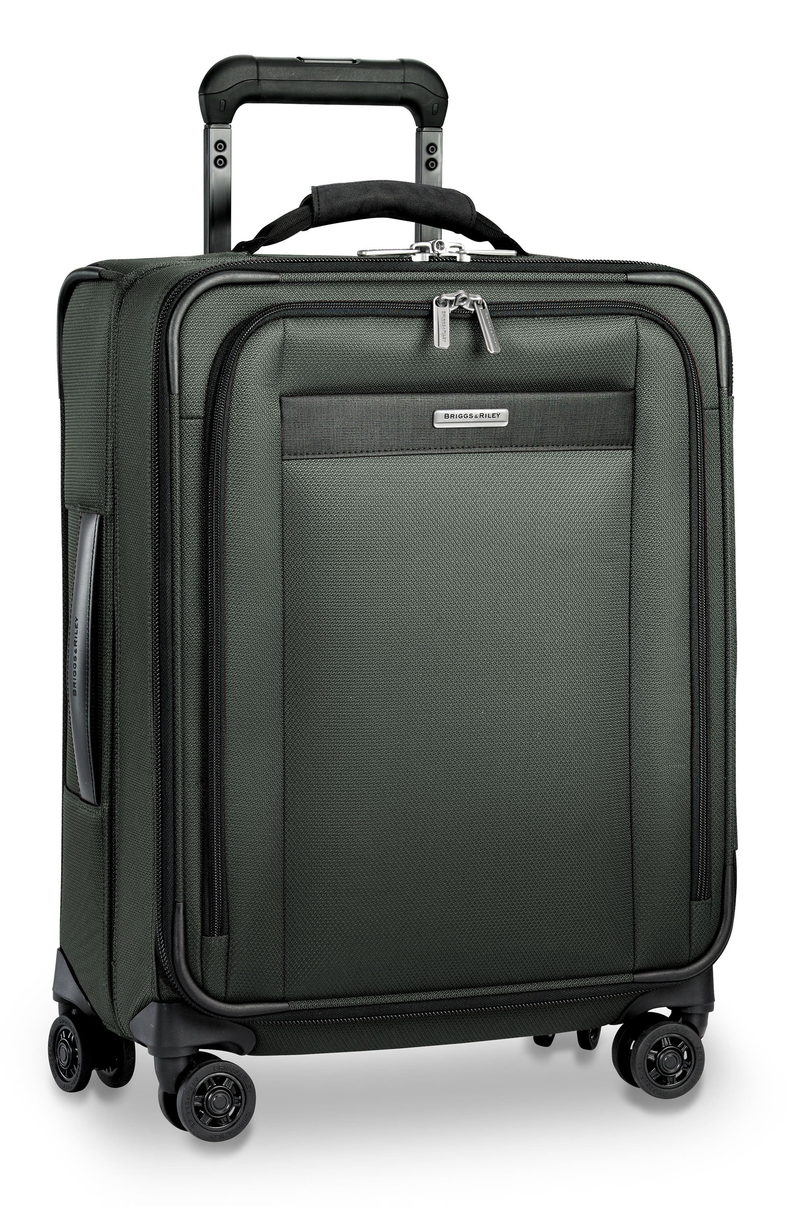 Transcend VX Wide Expandable 21-Inch Spinner Suitcase,                             Alternate thumbnail 9, color,                             Rainforest Green