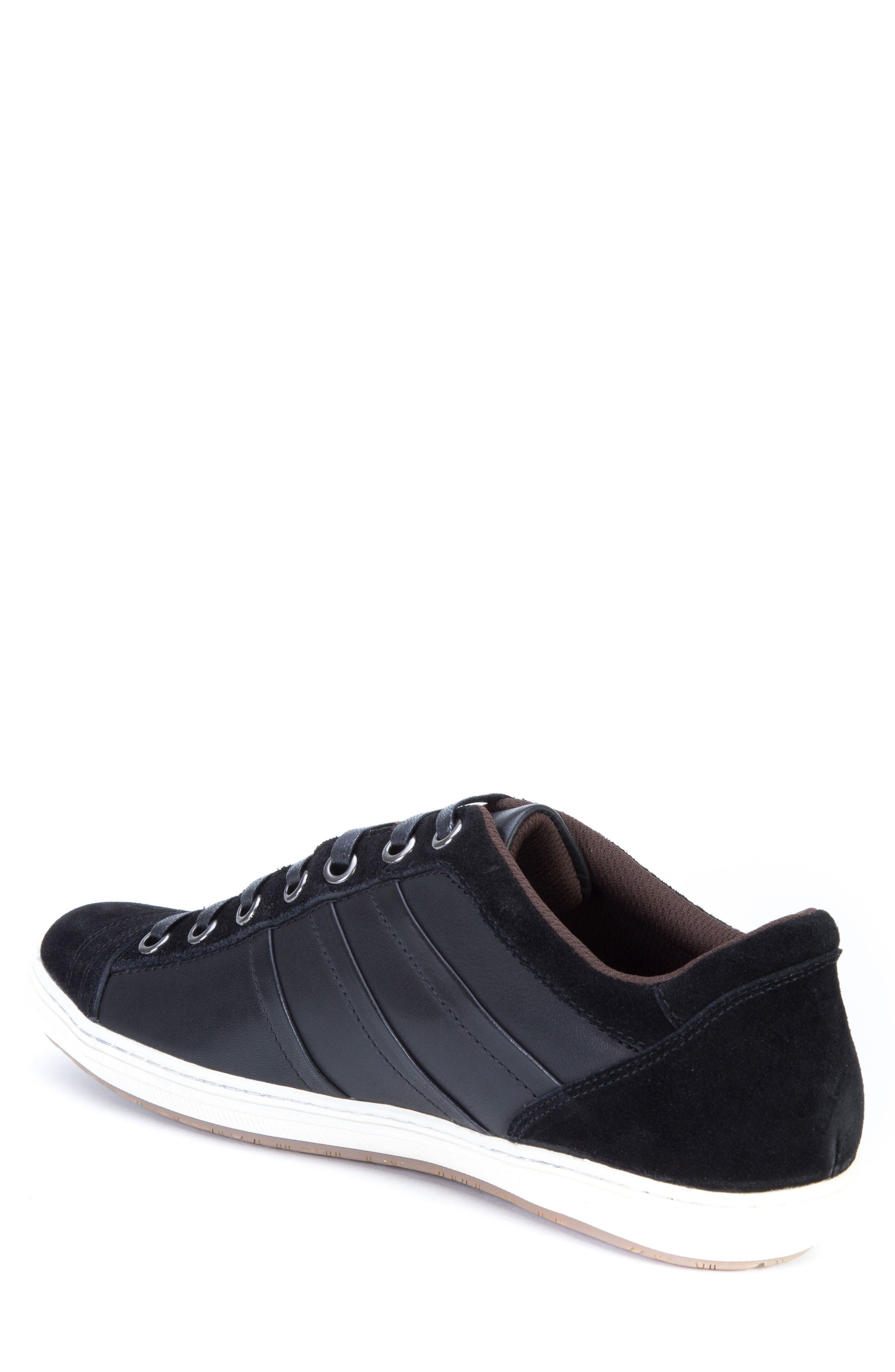Jive Sneaker,                             Alternate thumbnail 2, color,                             Black Leather/Suede