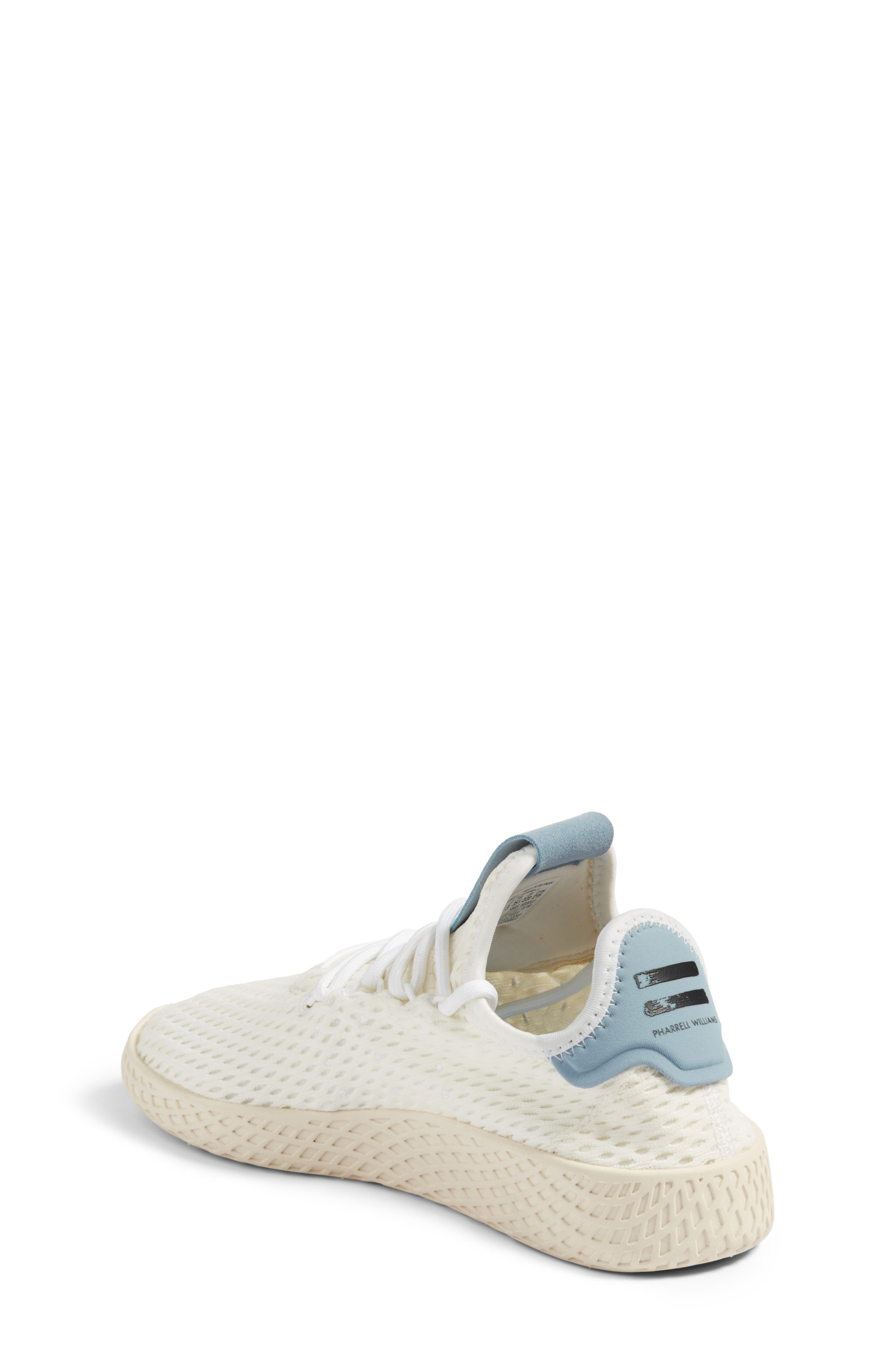 Originals x Pharrell Williams The Summers Mesh Sneaker,                             Alternate thumbnail 2, color,                             Footwear White/ Tactile Blue