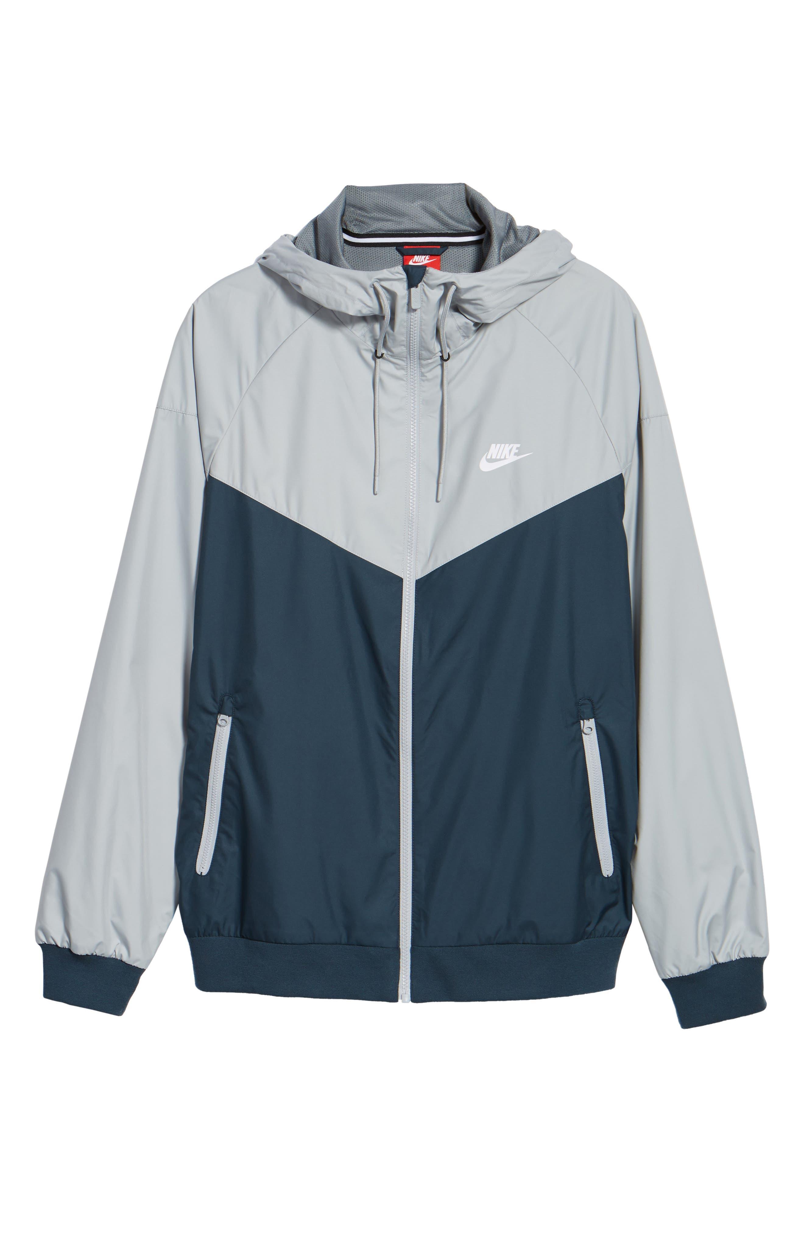 Alternate Image 6  - Nike 'Windrunner' Colorblock Jacket
