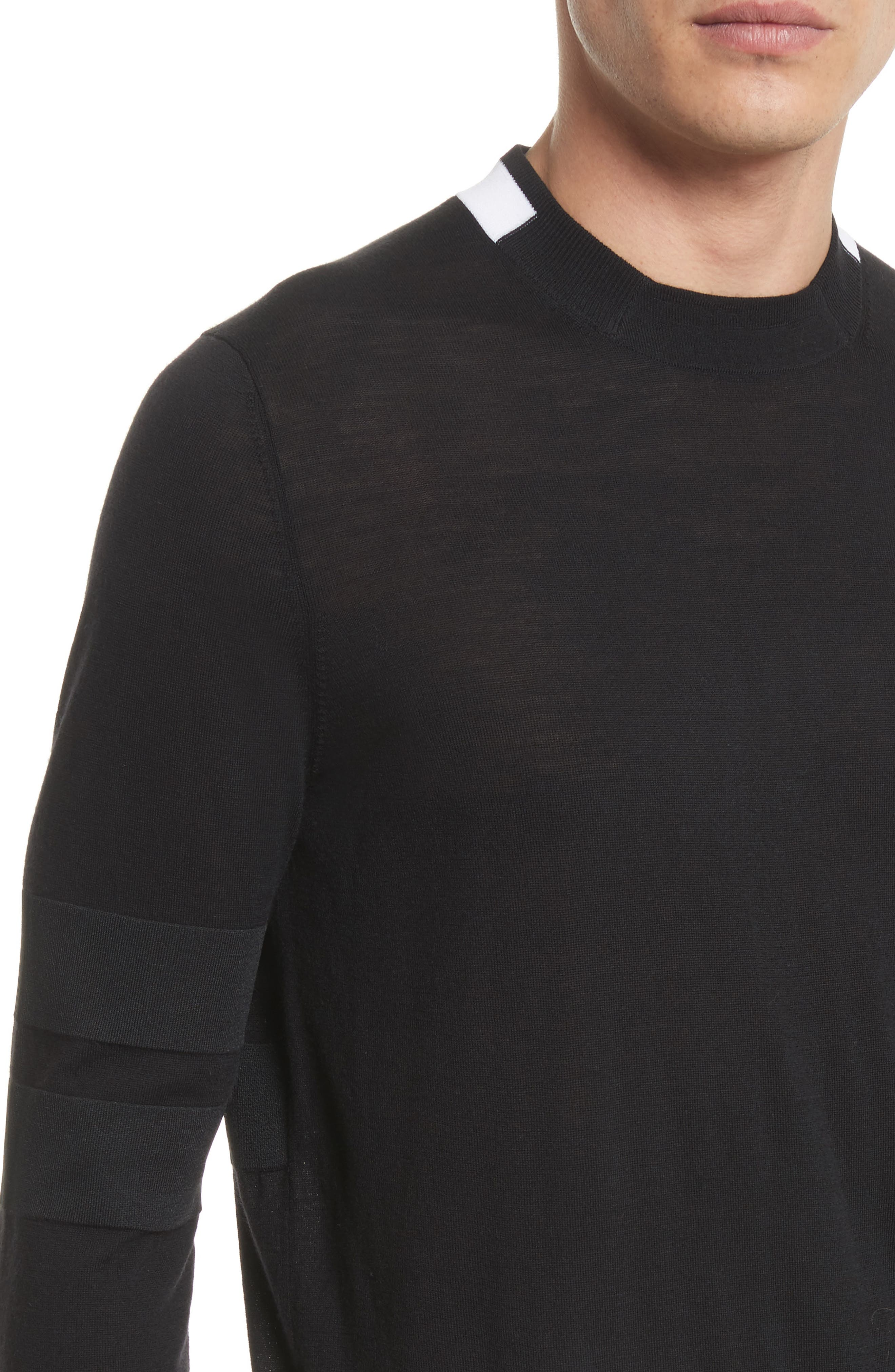 Alternate Image 4  - Givenchy Contrast Bands Wool Sweater