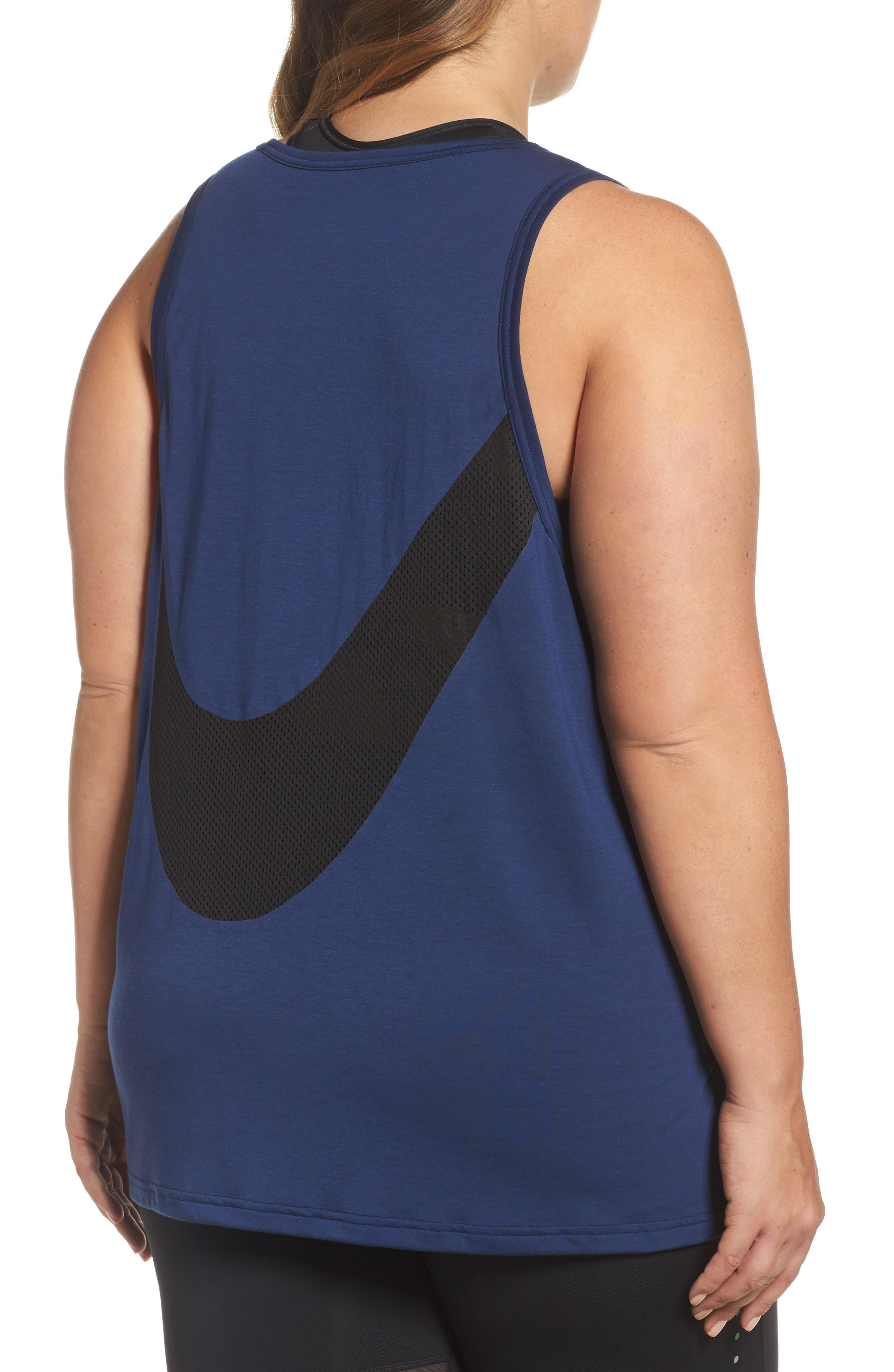 Alternate Image 2  - Nike Breathe Tank (Plus Size)