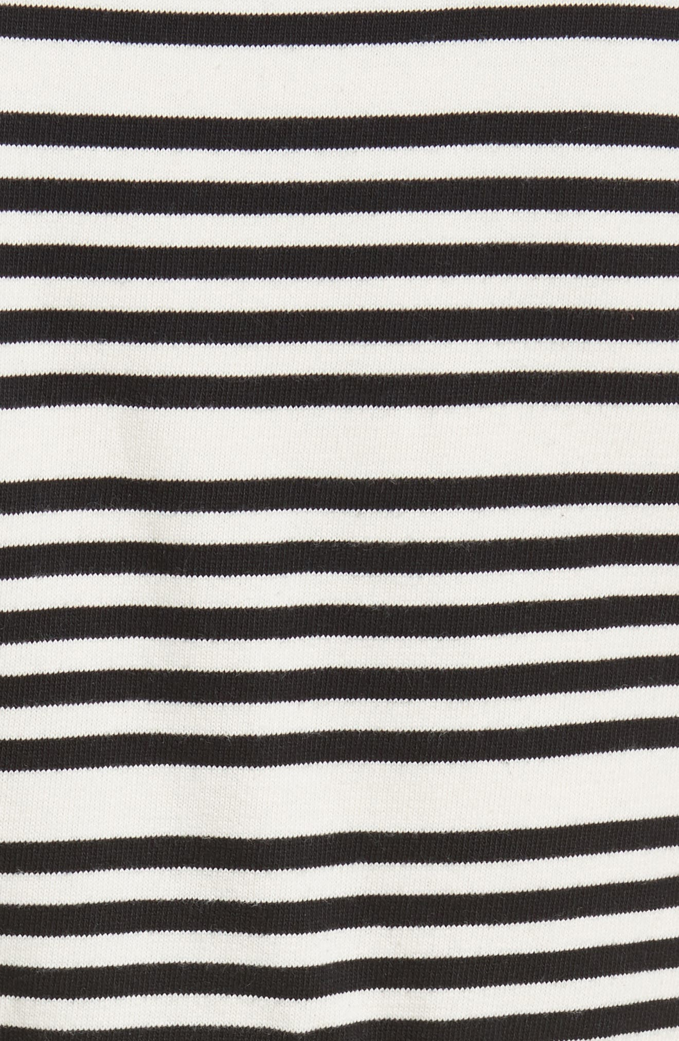 Alternate Image 5  - Opening Ceremony Stripe Button Front Dress