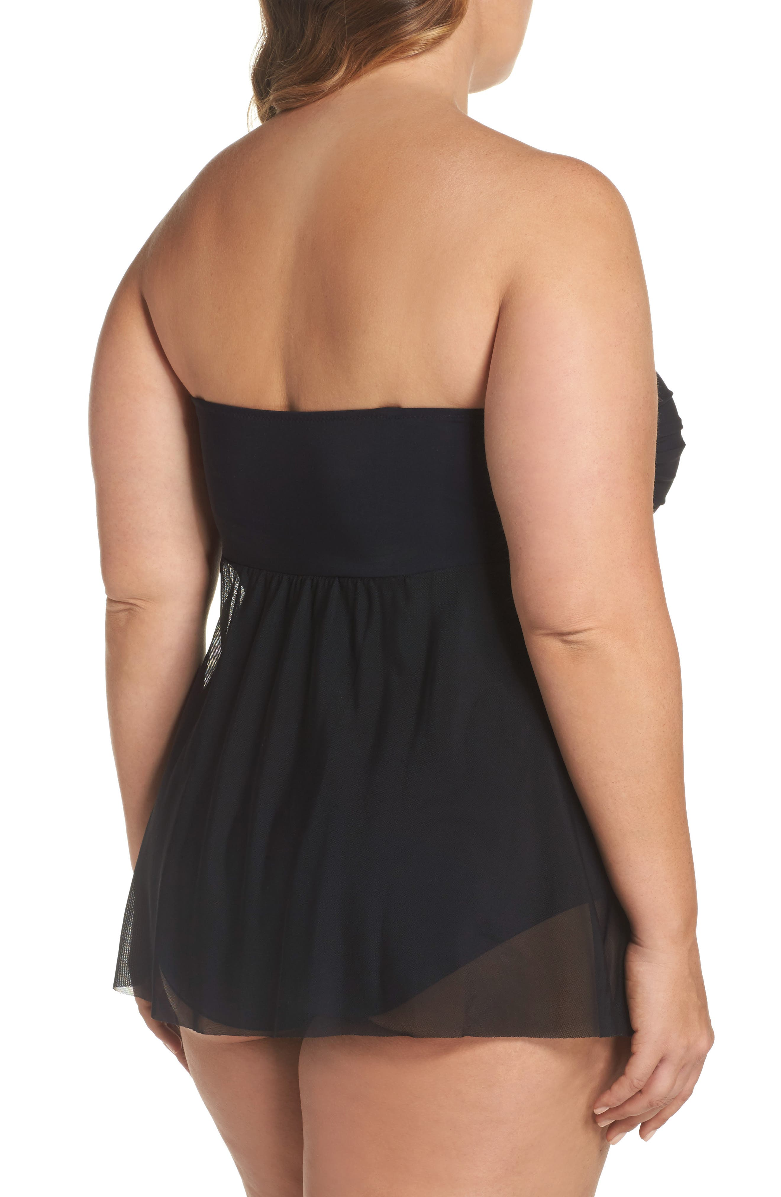Alternate Image 2  - Profile by Gottex Flyaway Tankini Top (Plus Size)