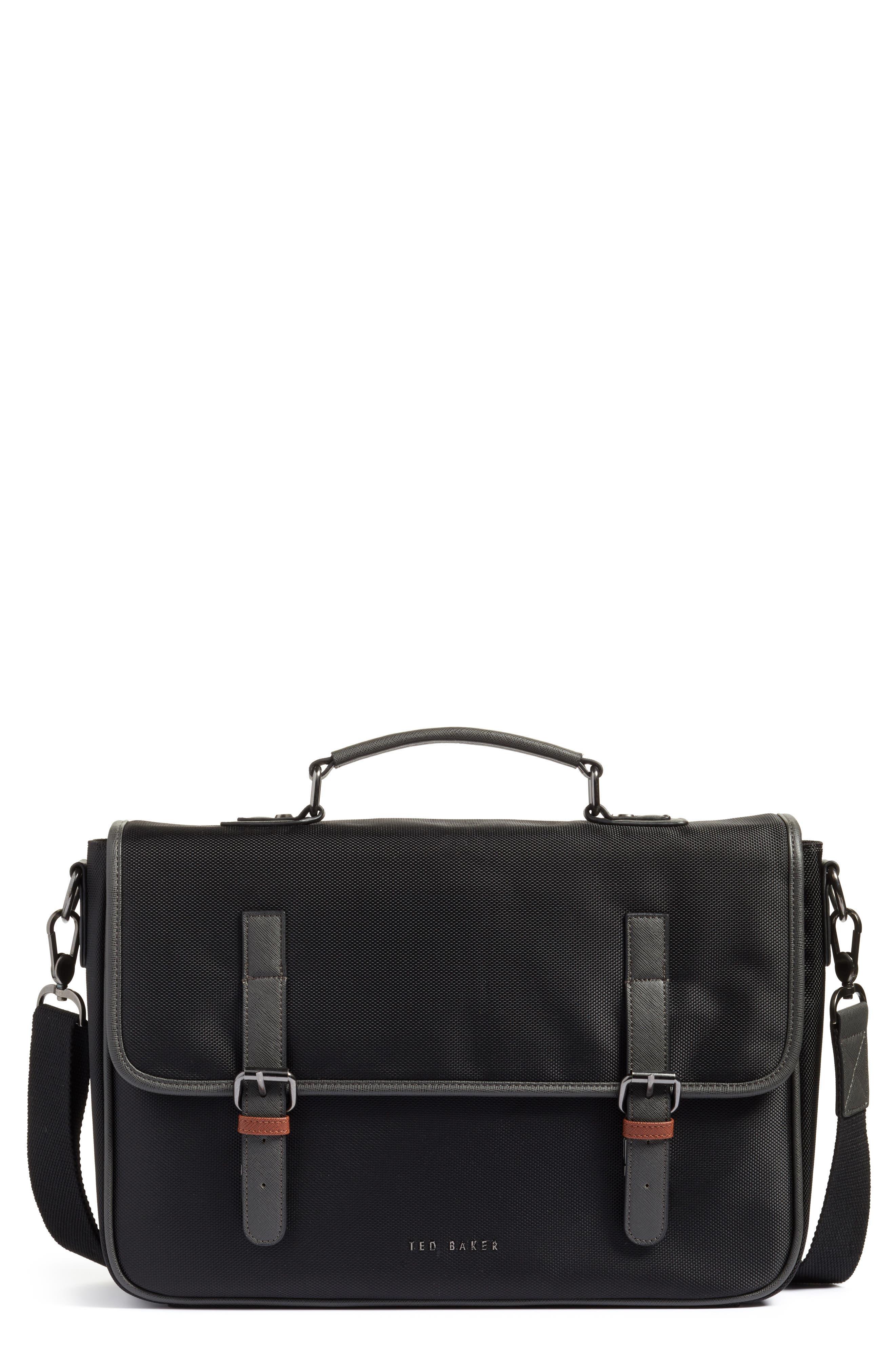 Cattar Messenger Bag,                         Main,                         color, Black