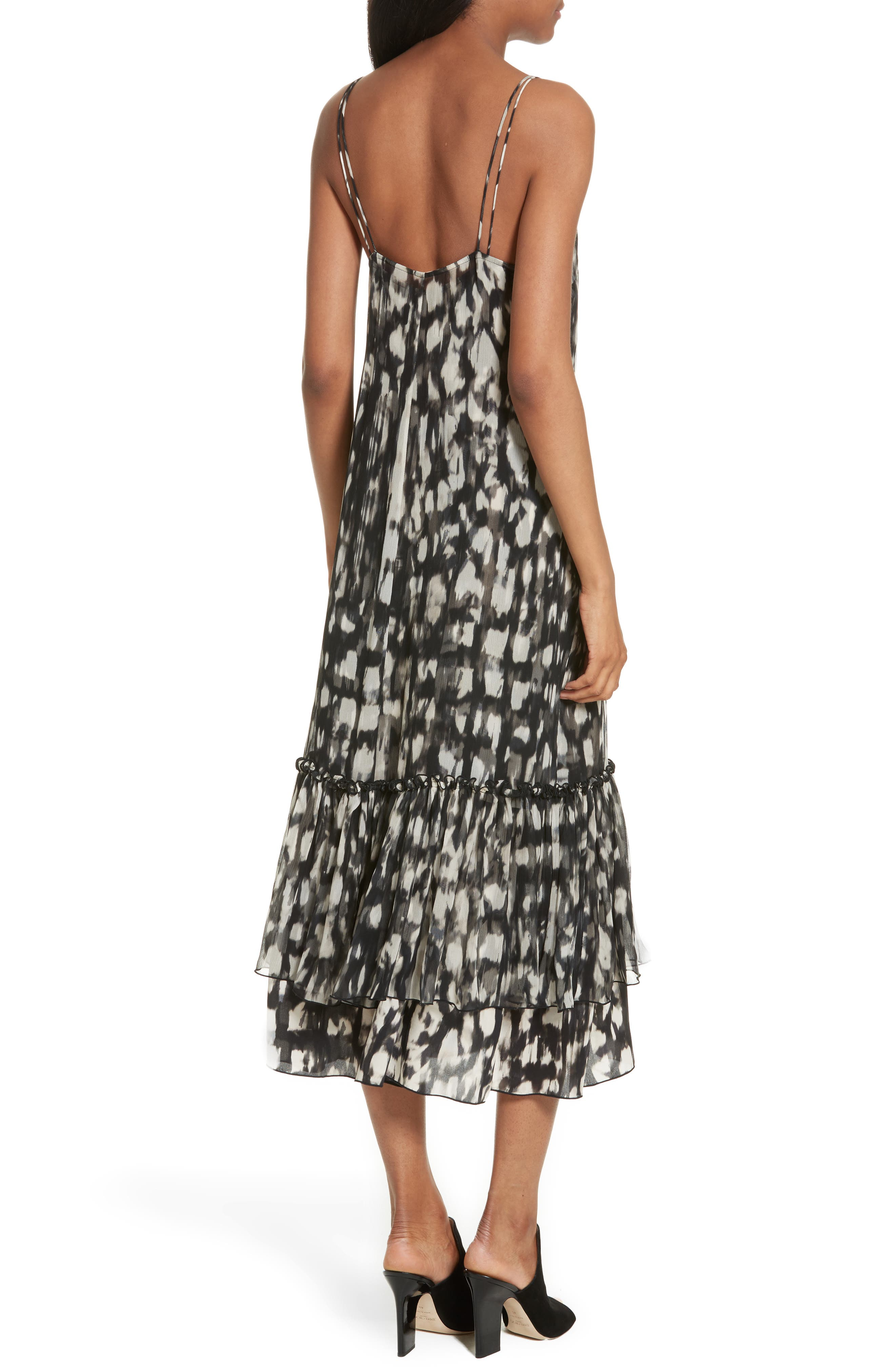 Alternate Image 2  - Tracy Reese Double Layer Silk Slipdress