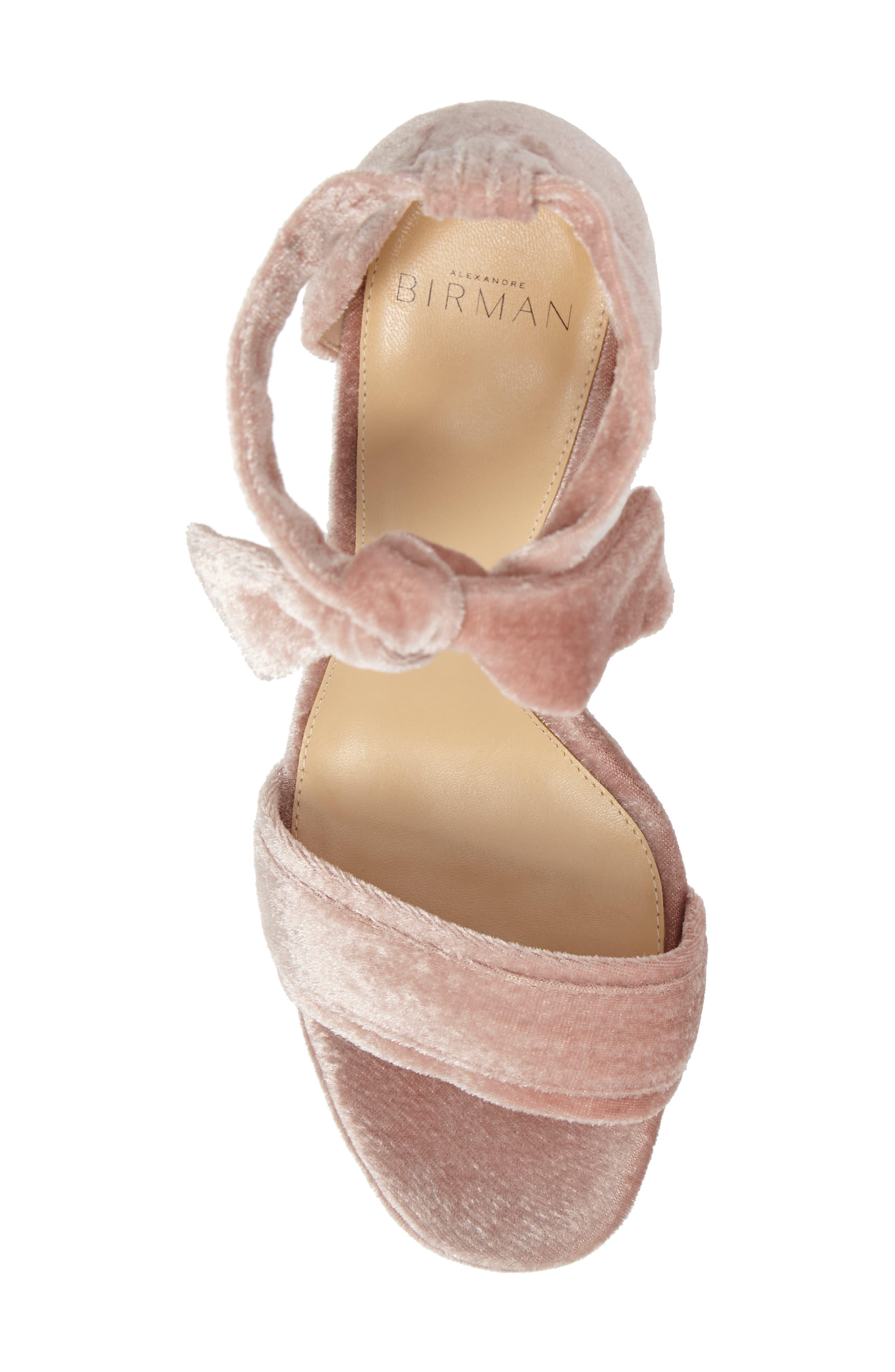 Celine Platform Sandal,                             Alternate thumbnail 4, color,                             Blush