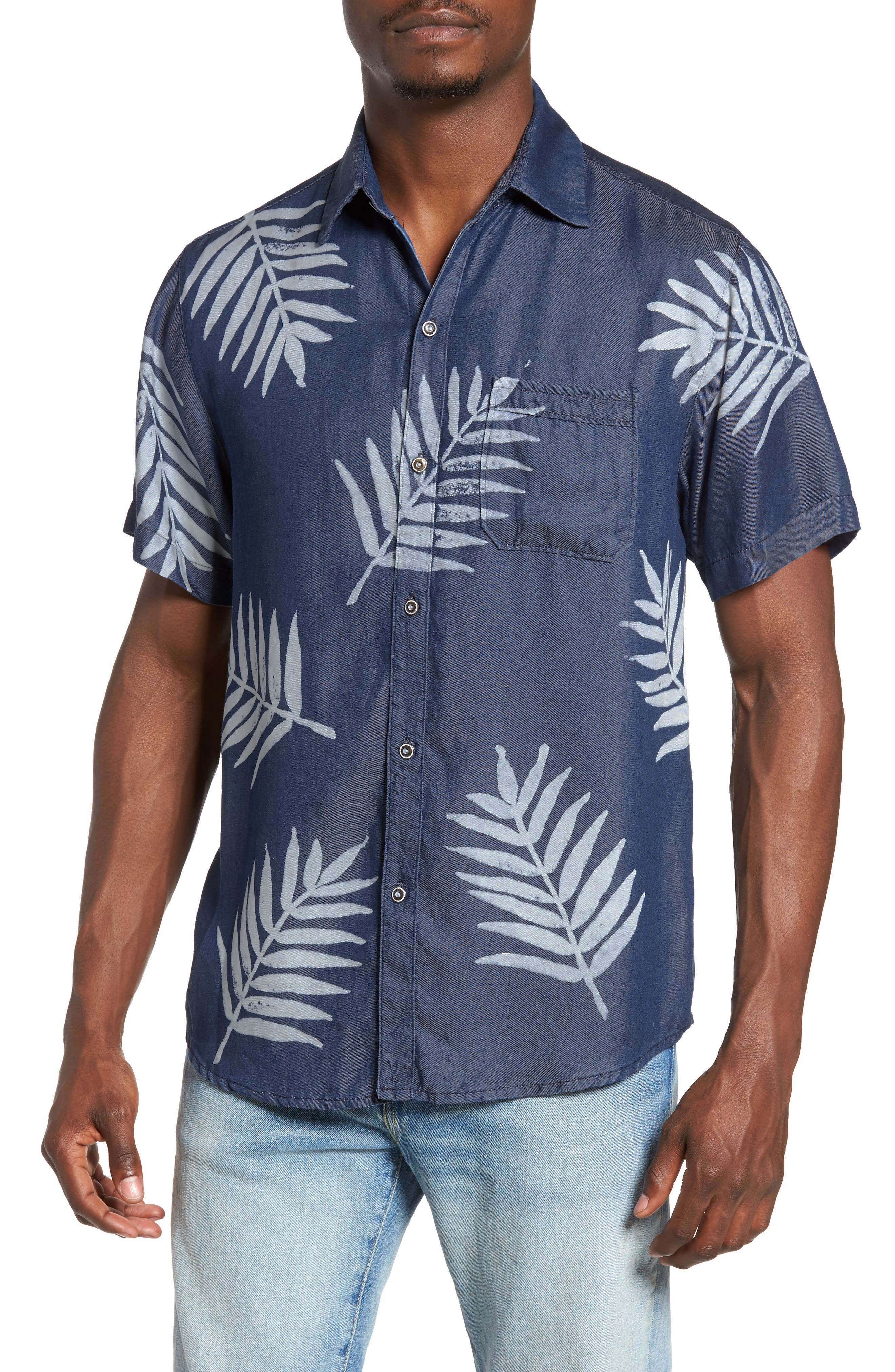 Sol Angeles Palm Print Shirt