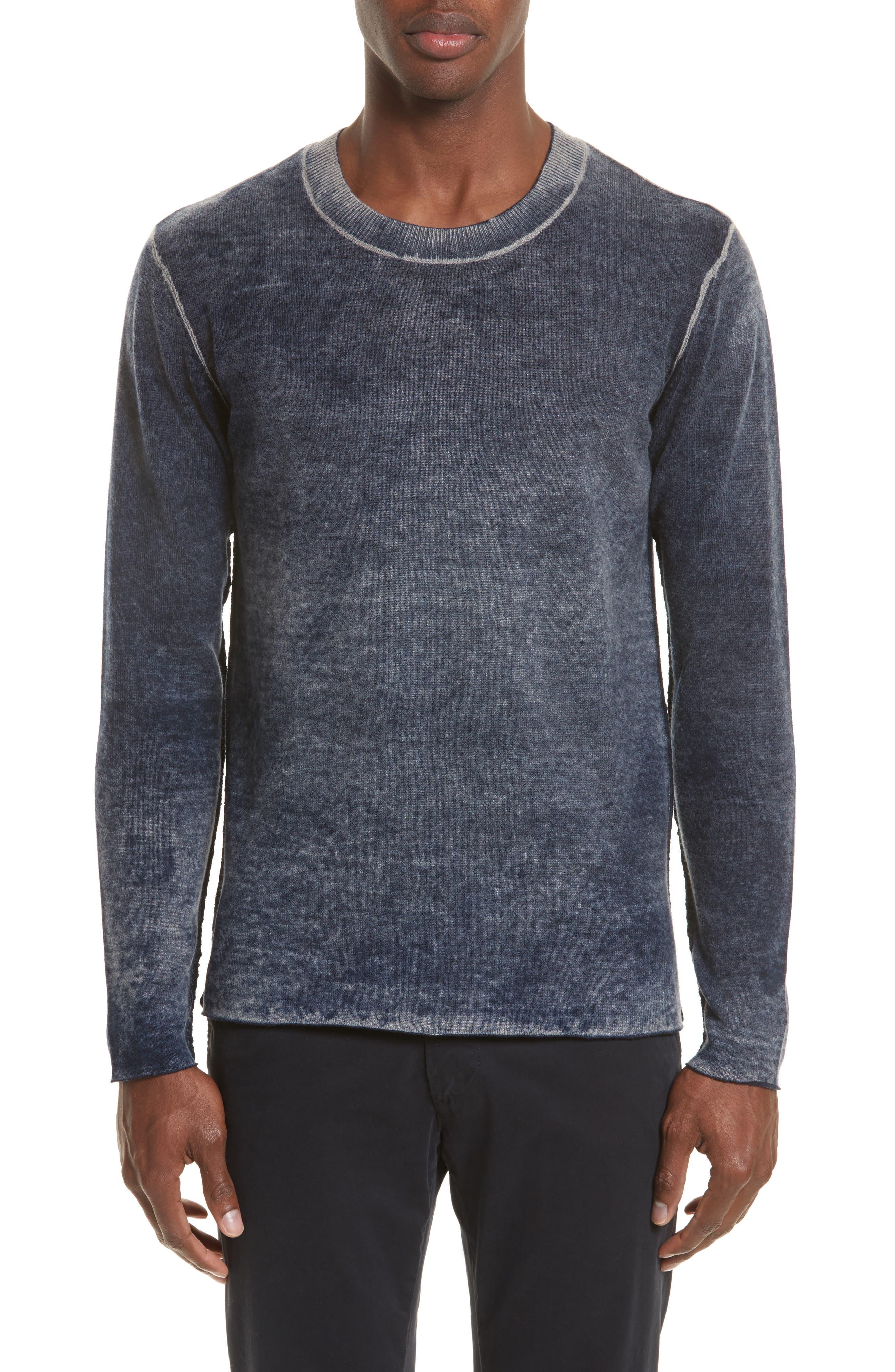 ATM ANTHONY THOMAS MELILLO Acid Wash Sweater