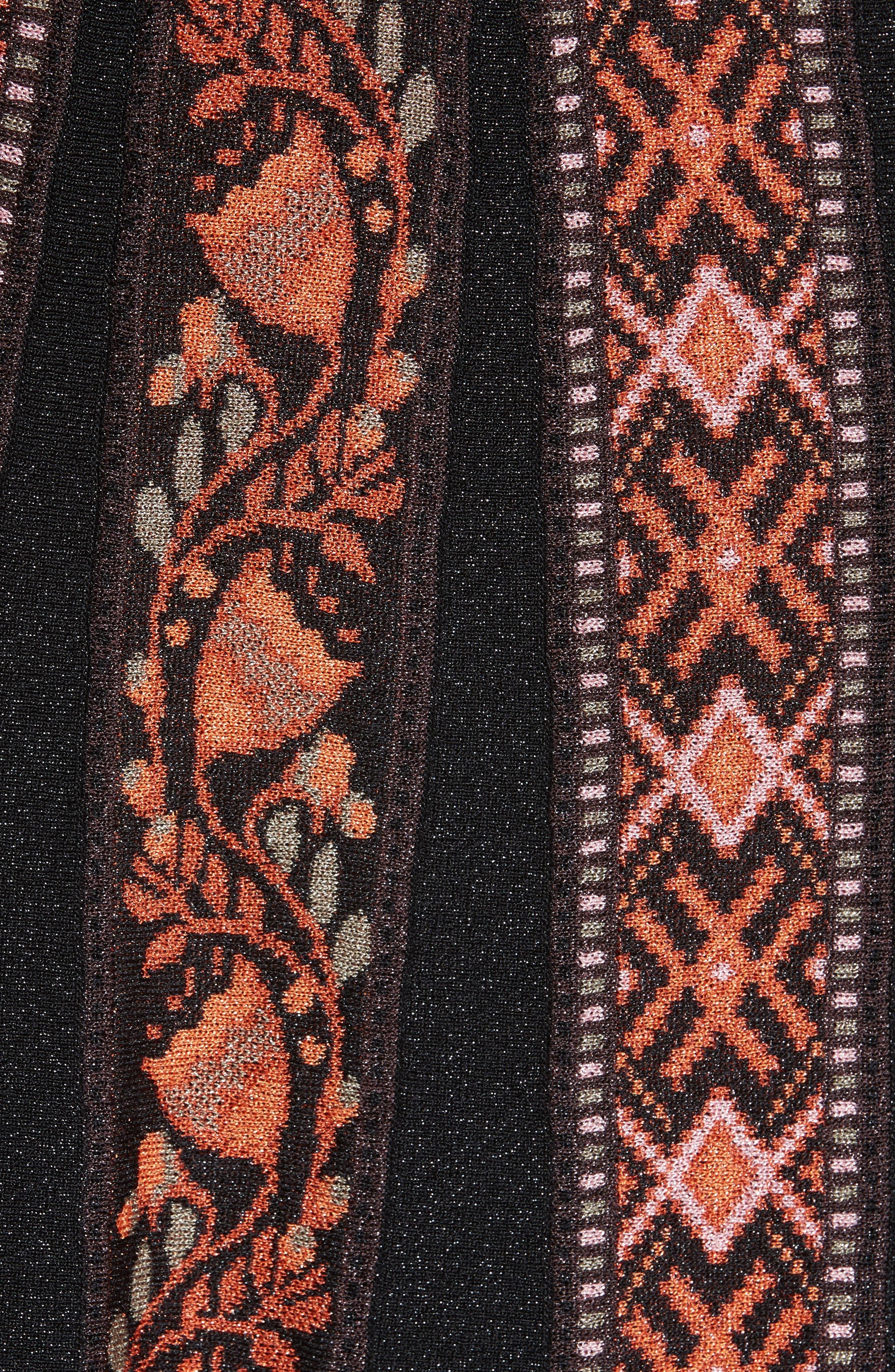 Alternate Image 5  - M Missoni Ribbon Jacquard Skirt