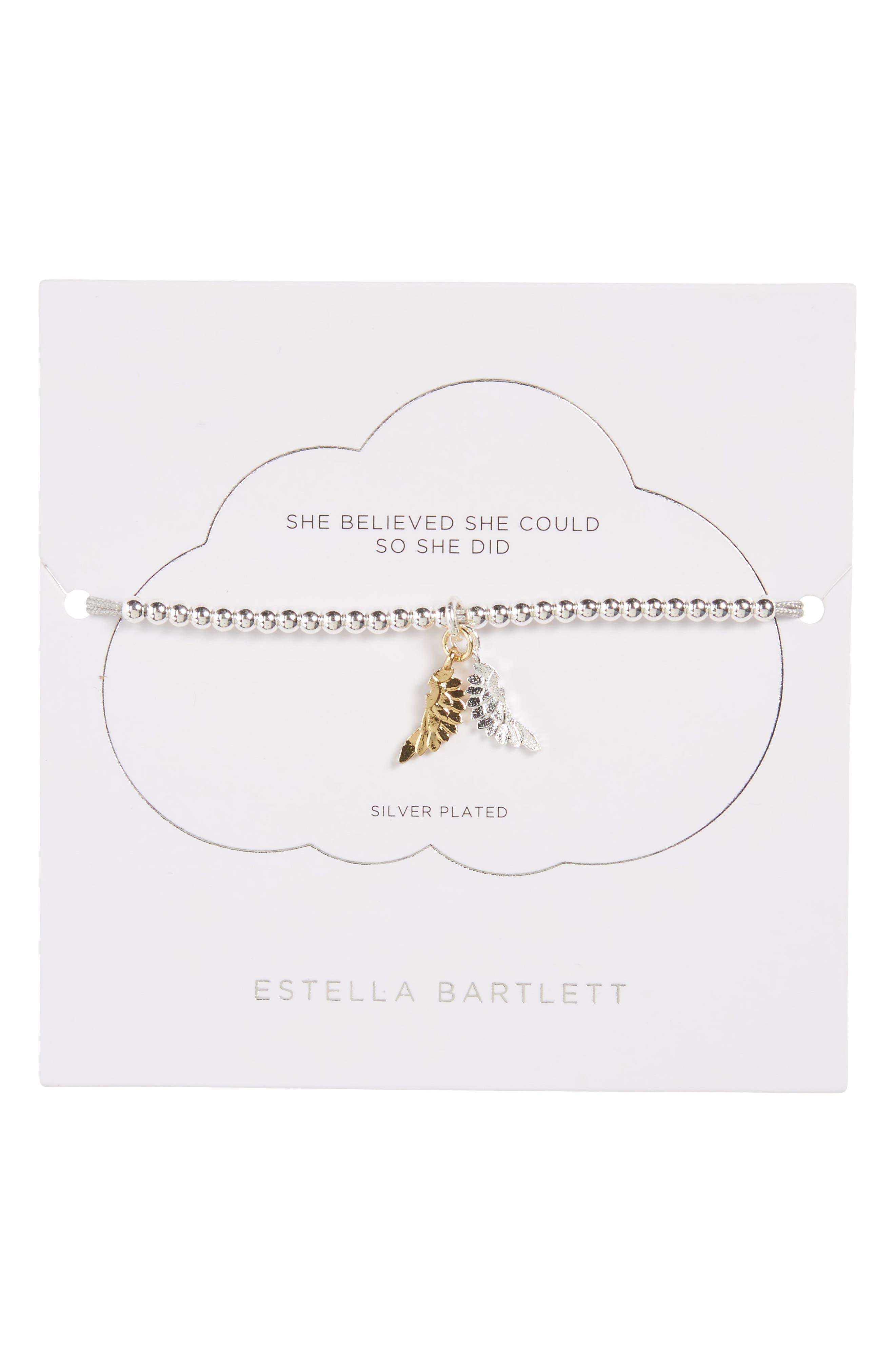 ESTELLA BARTLETT Liberty Wings Bracelet