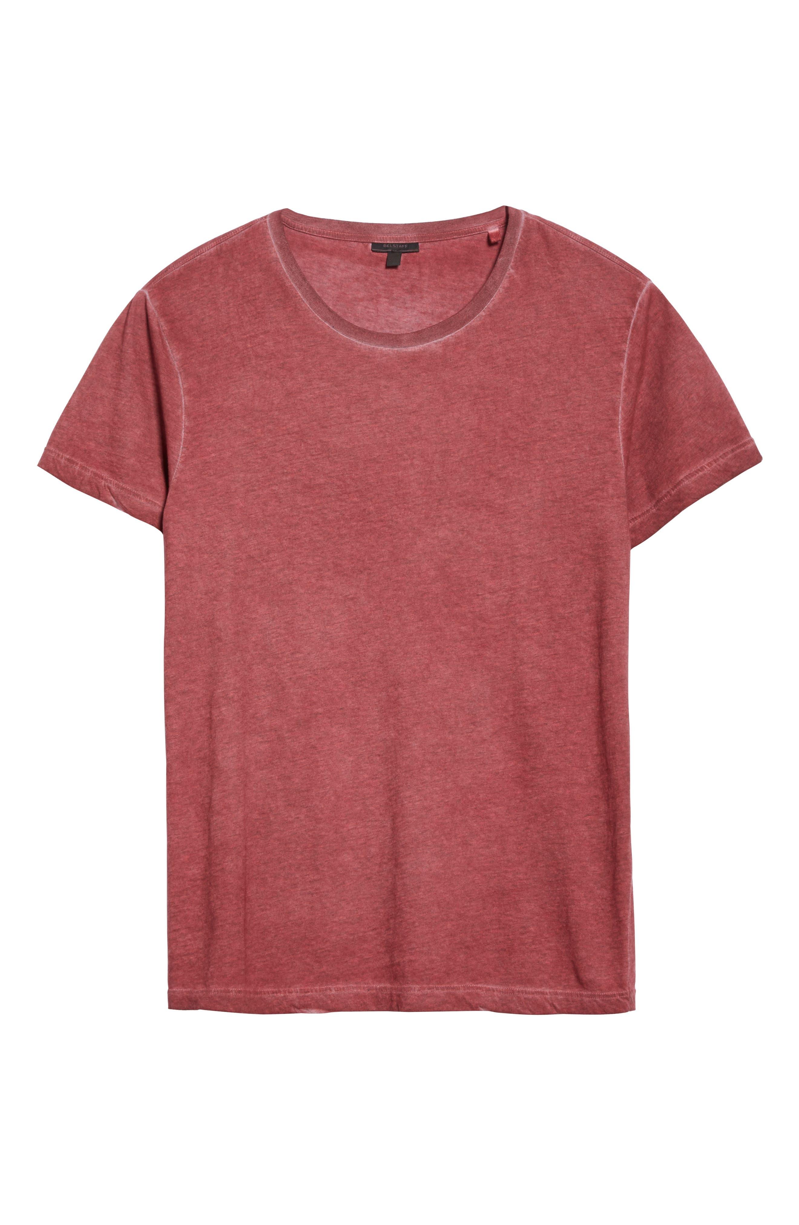 Alternate Image 6  - Belstaff 'Trafford' Cotton Crewneck T-Shirt