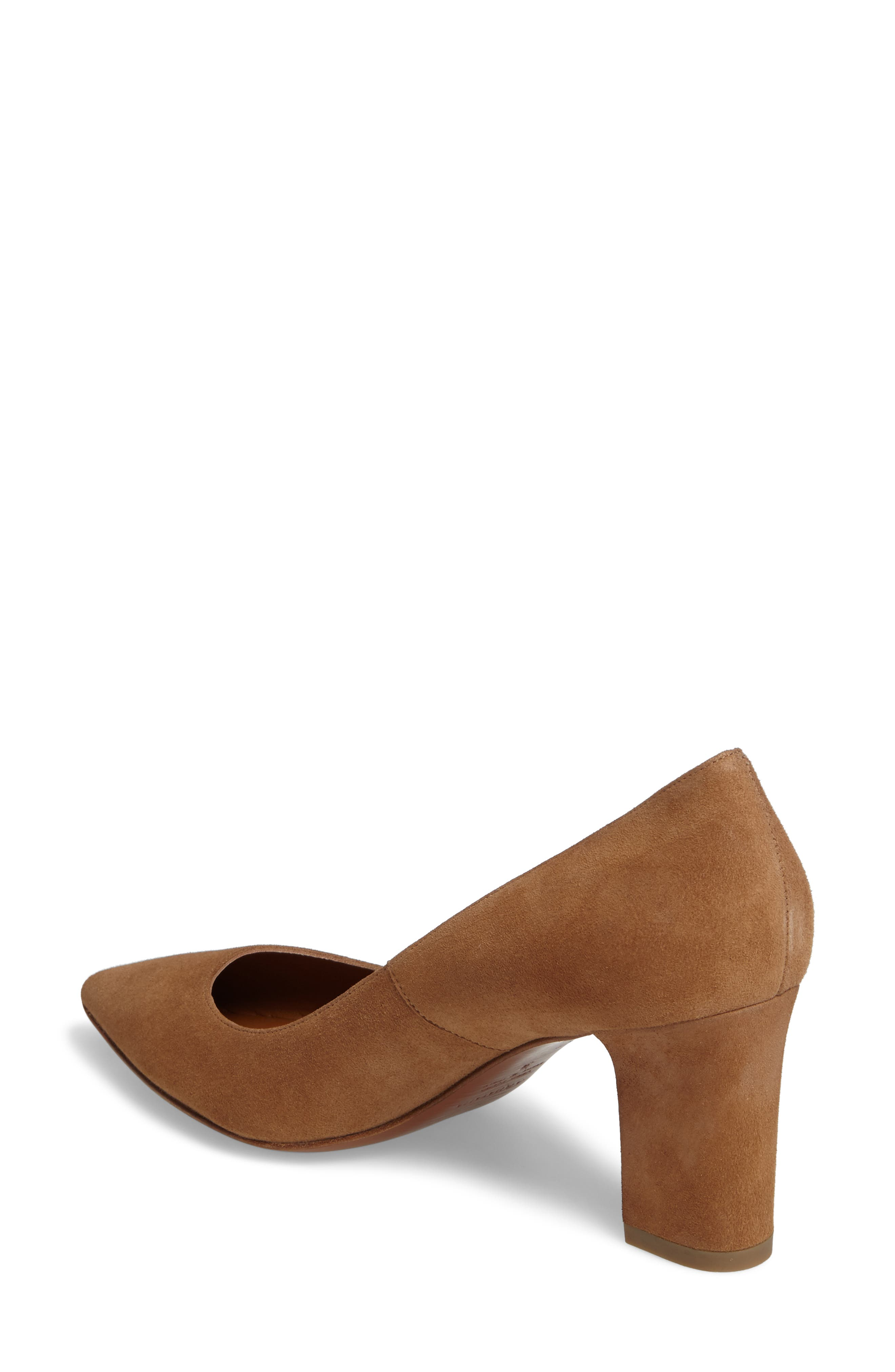 Michaela Weatherproof Pump,                             Alternate thumbnail 2, color,                             Sand Suede